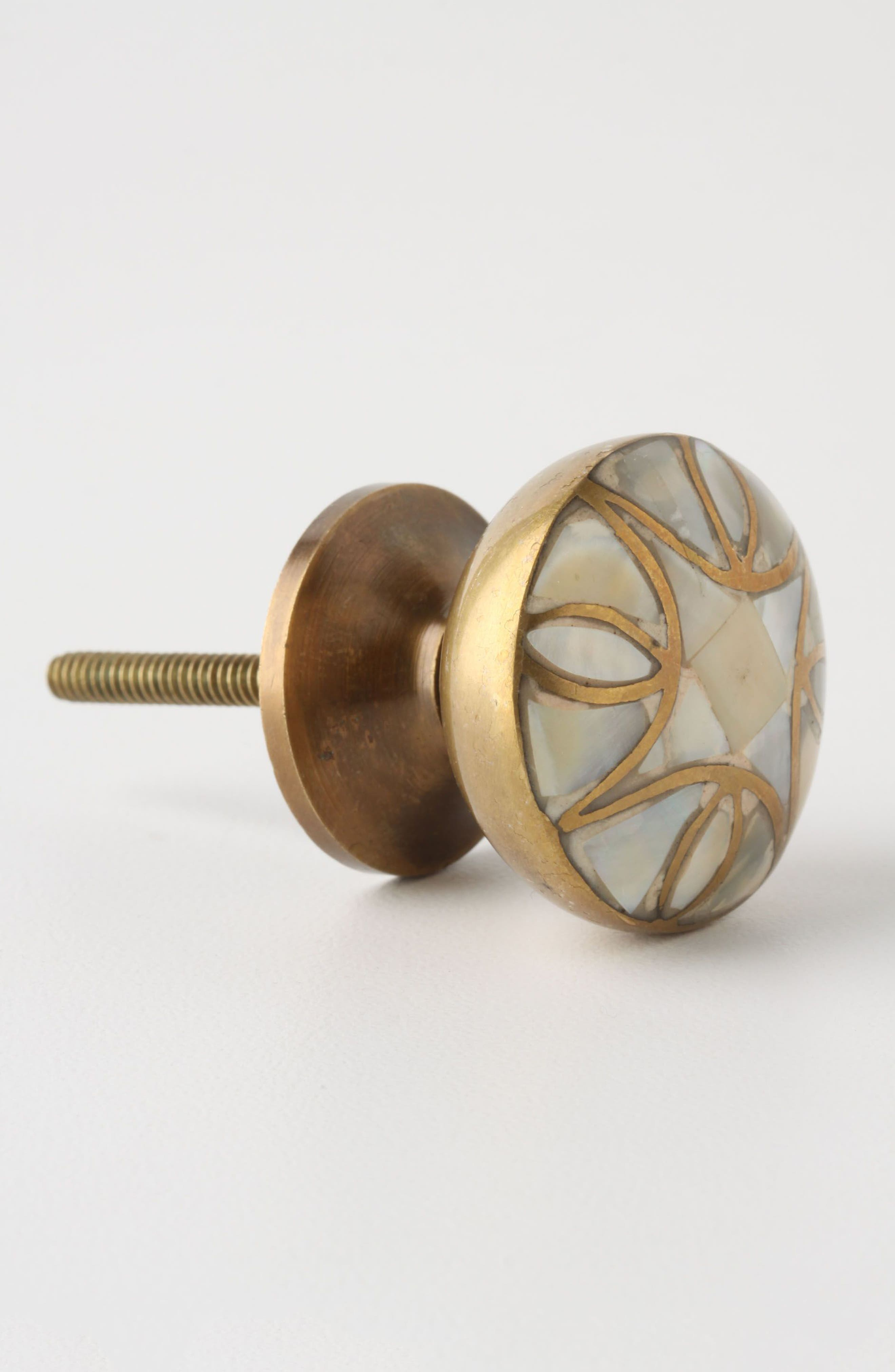 Mother-of-Pearl Knob,                             Alternate thumbnail 4, color,                             100