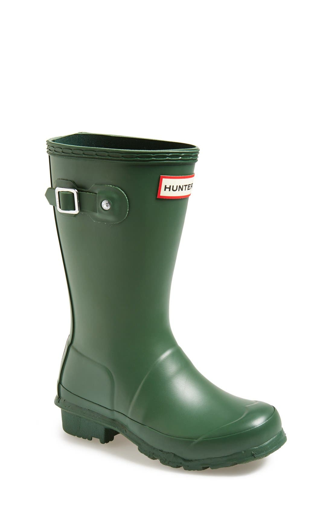 Original Rain Boot,                             Main thumbnail 1, color,                             HUNTER GREEN