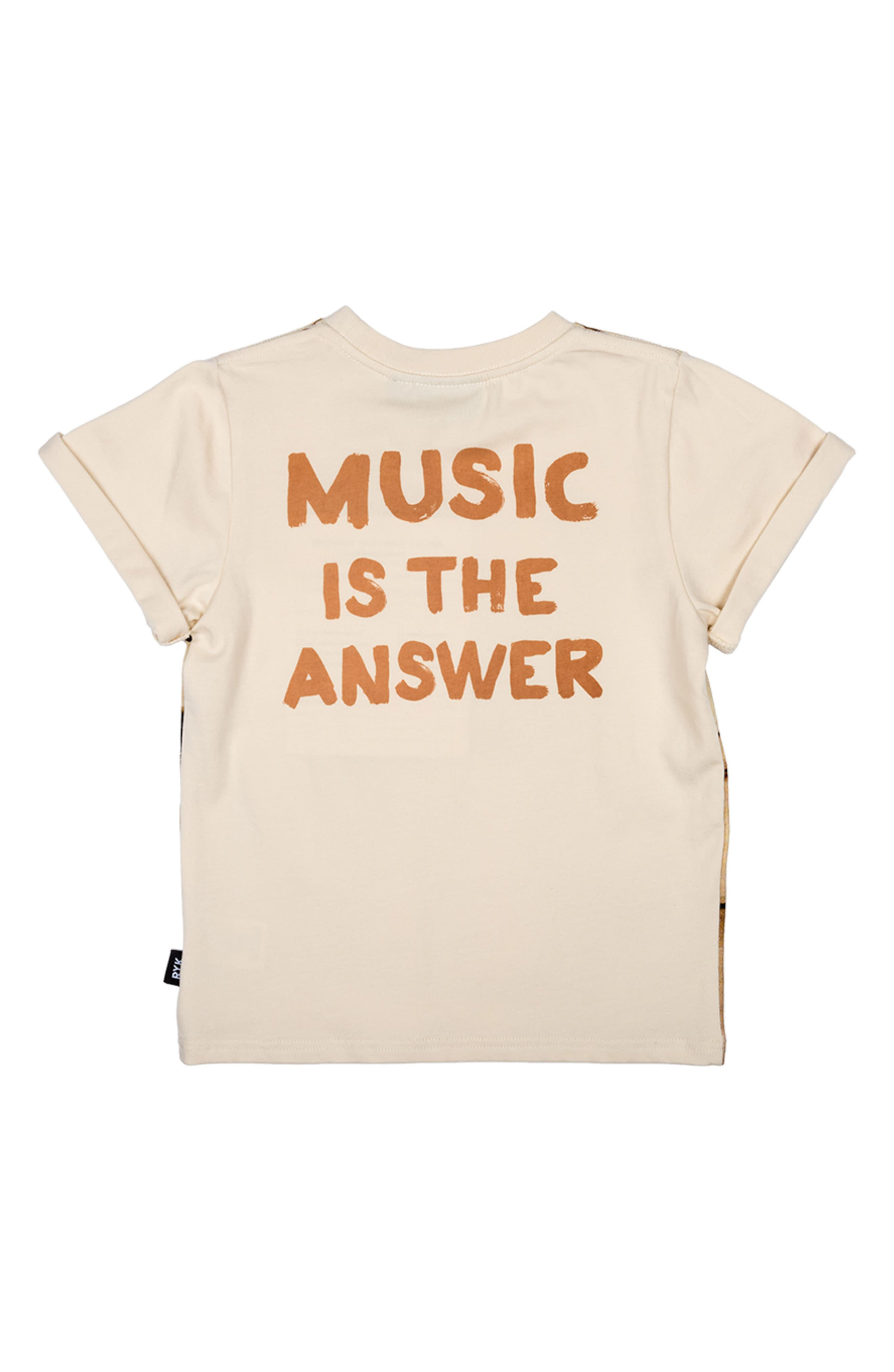 Music Is the Answer Graphic T-Shirt,                             Alternate thumbnail 2, color,                             250