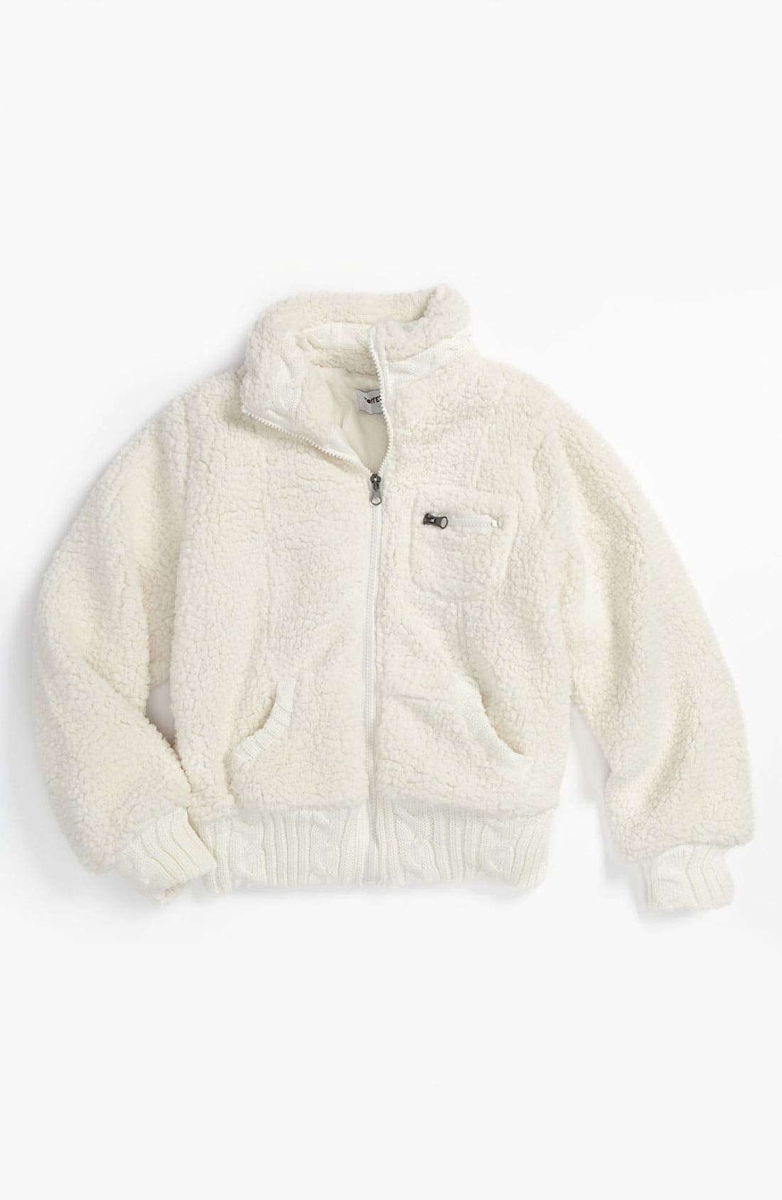 'Wubby' Faux Shearling Jacket, Main, color, 900