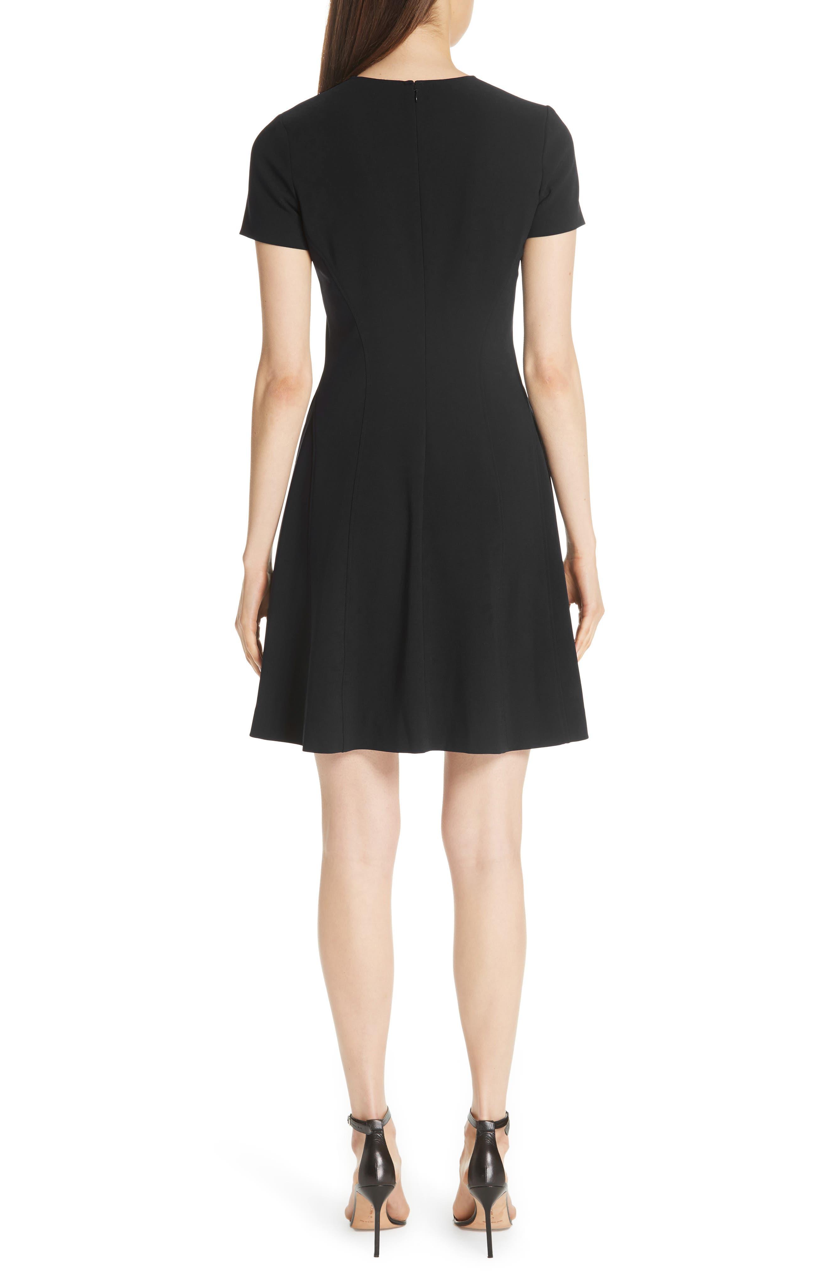 Modern Seamed Dress,                             Alternate thumbnail 2, color,                             001