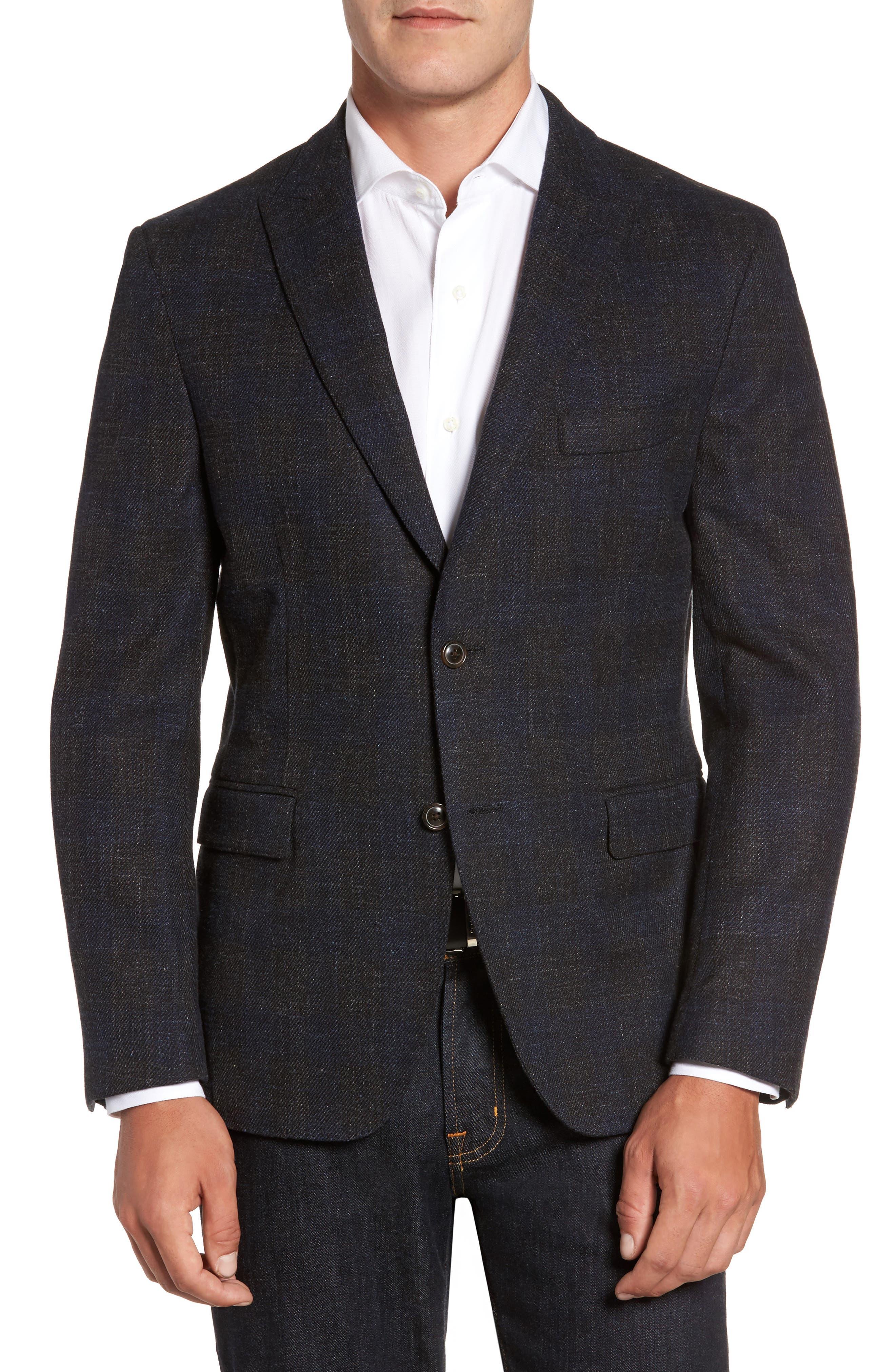 Soft Denim Sport Coat,                         Main,                         color,
