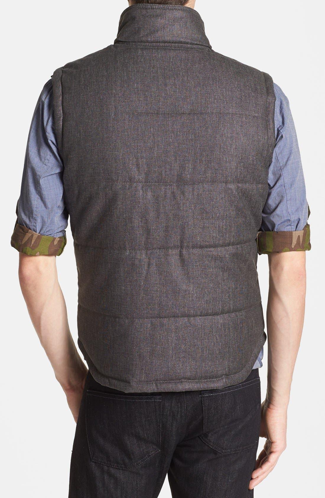 Quilted Cotton Vest,                             Alternate thumbnail 3, color,                             010