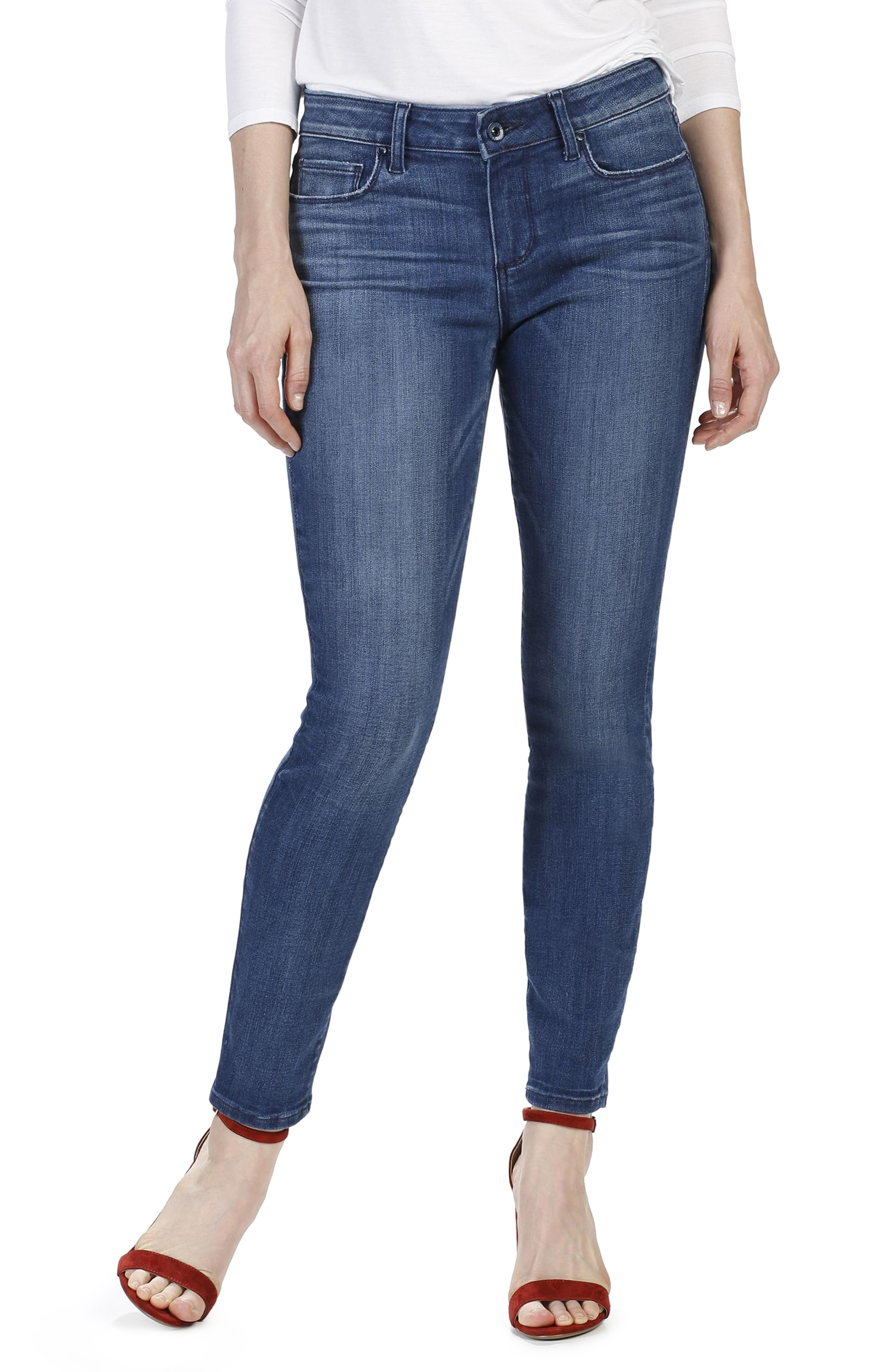 Transcend - Verdugo Ankle Ultra Skinny Jeans,                             Main thumbnail 1, color,                             400