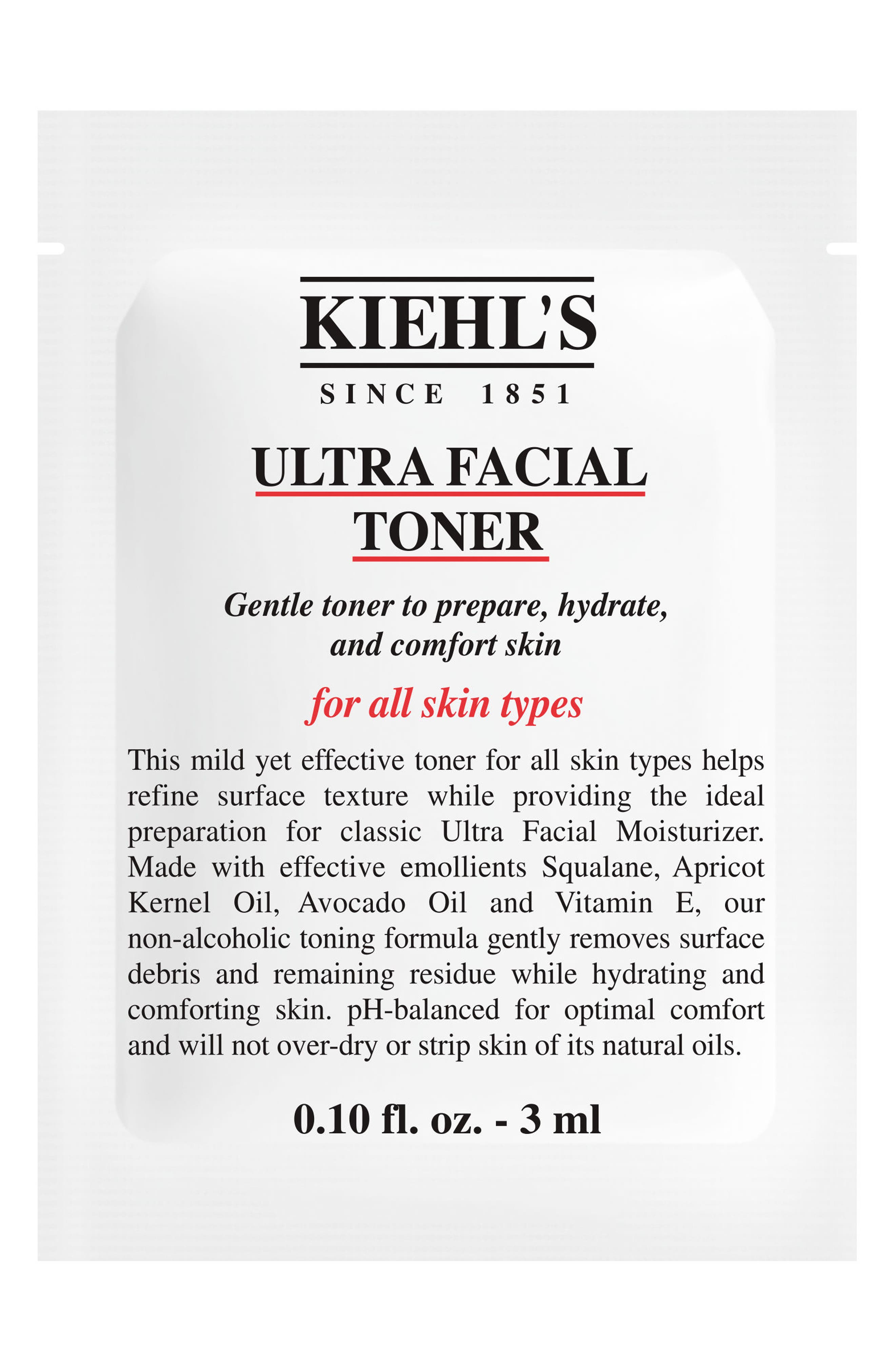 Ultra Facial Toner,                             Alternate thumbnail 2, color,                             NO COLOR