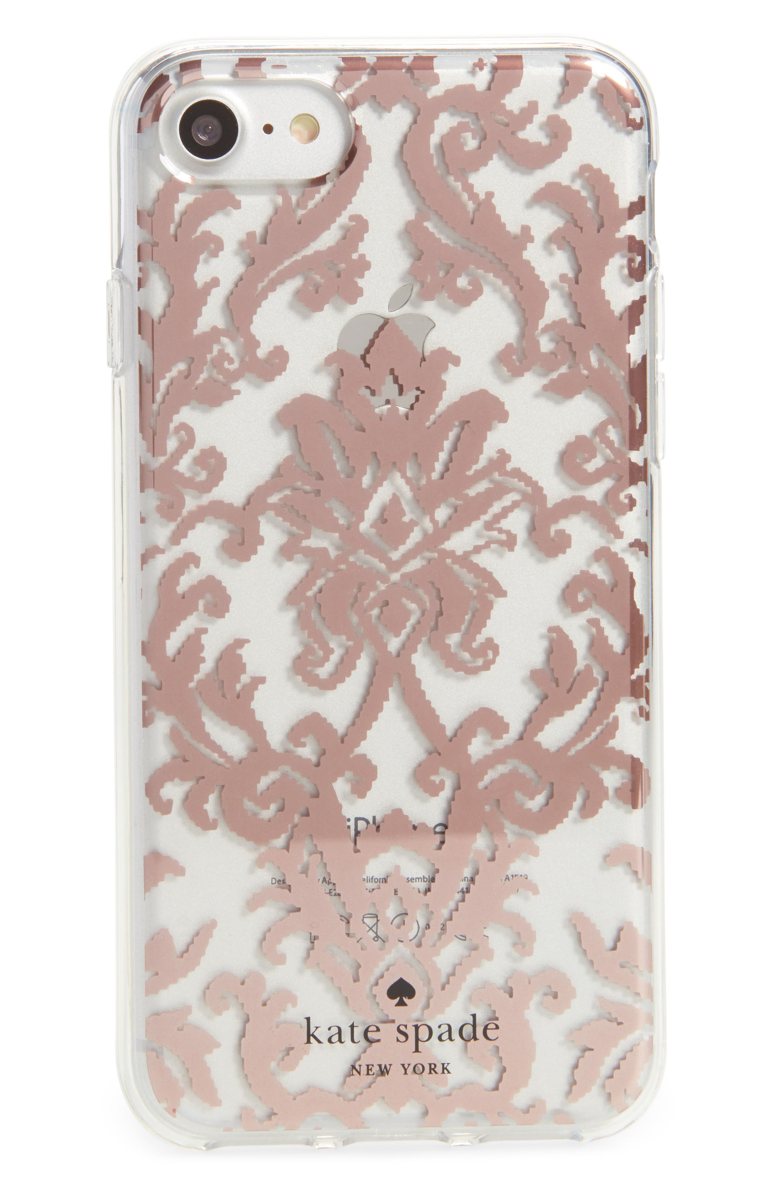 tapestry iPhone 7/8 & 7/8 Plus case,                             Main thumbnail 1, color,                             650