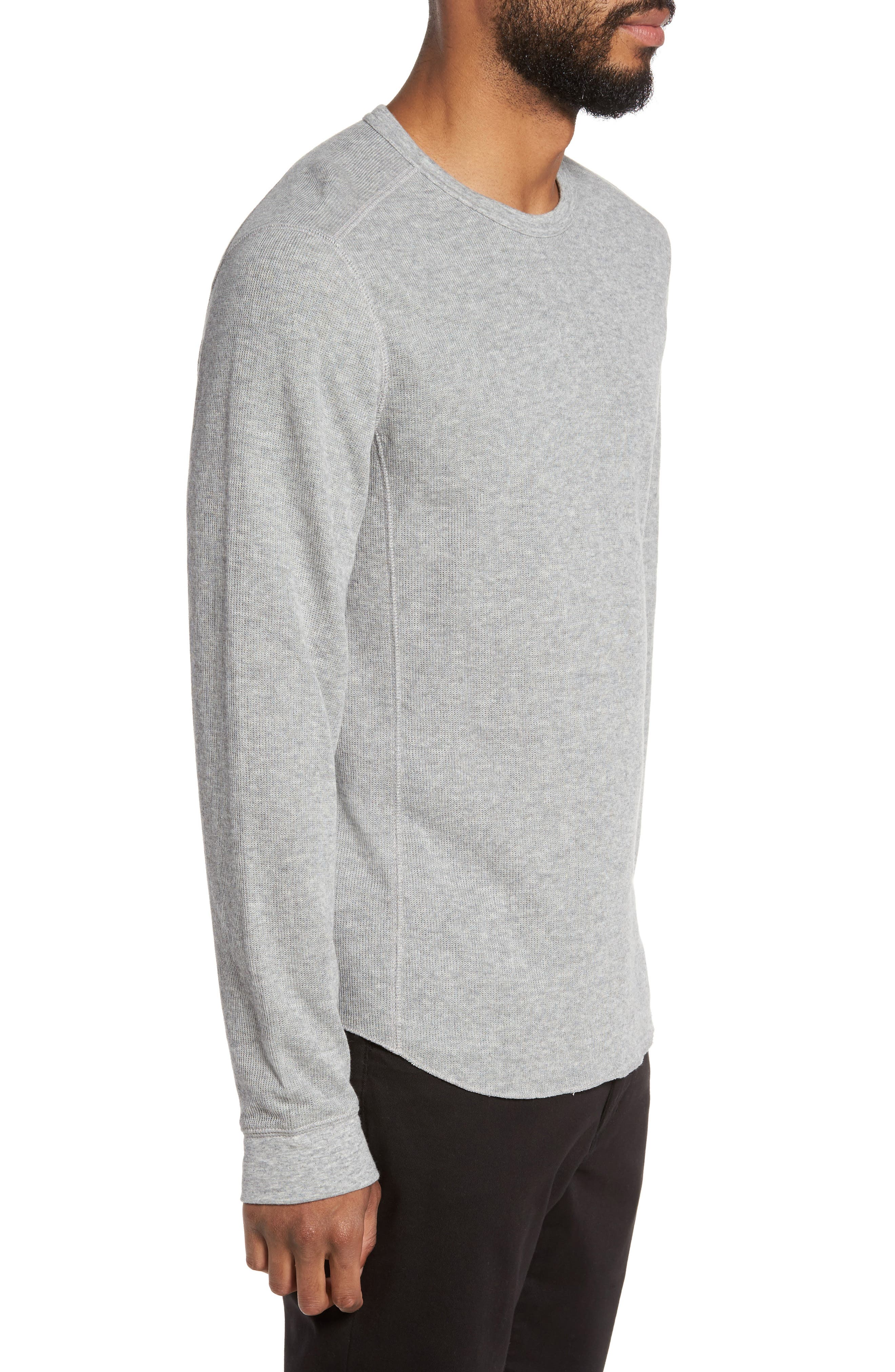 Double Knit Long Sleeve T-Shirt,                             Alternate thumbnail 12, color,