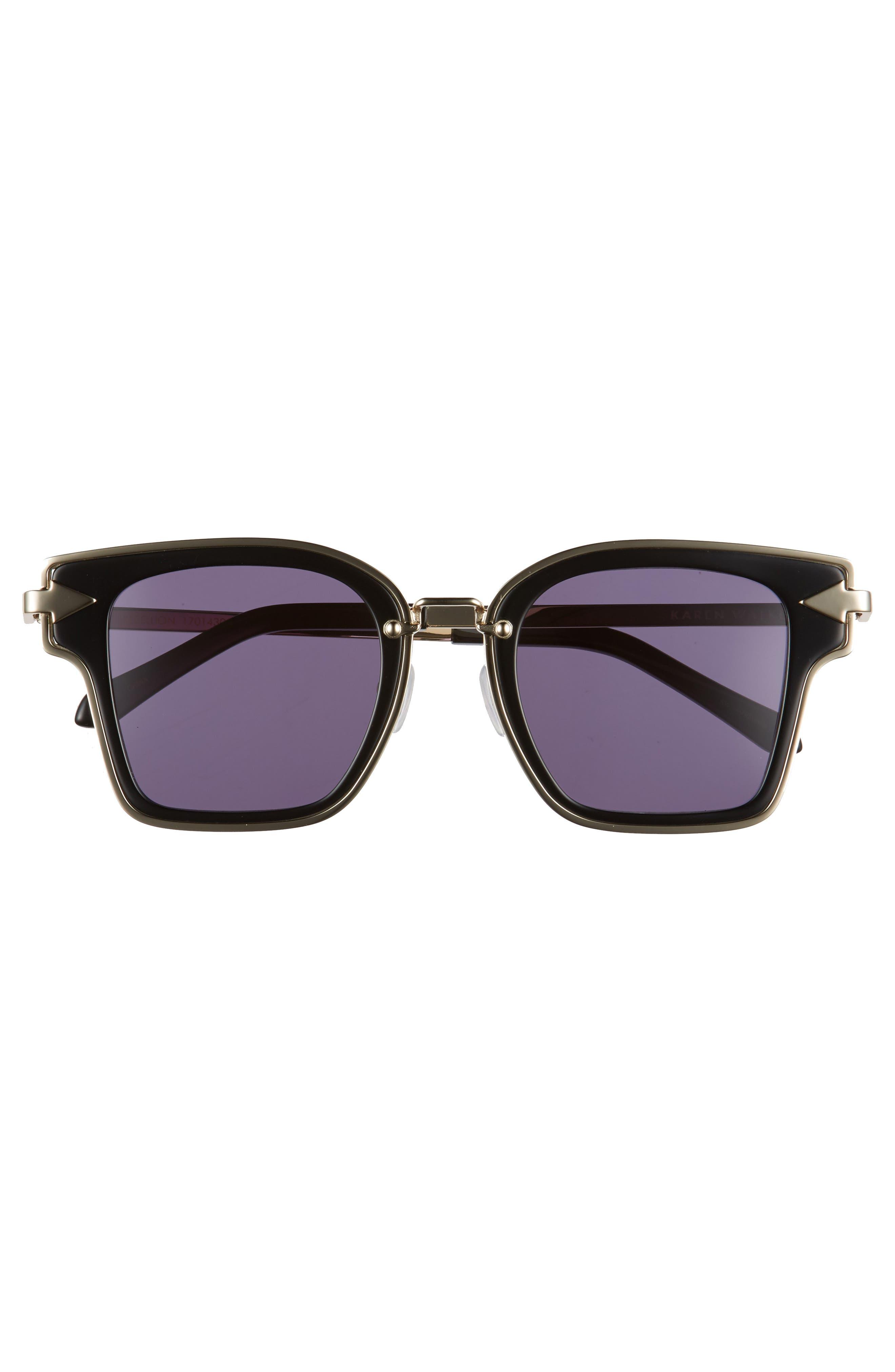 Rebellion 49mm Sunglasses,                             Alternate thumbnail 3, color,                             001