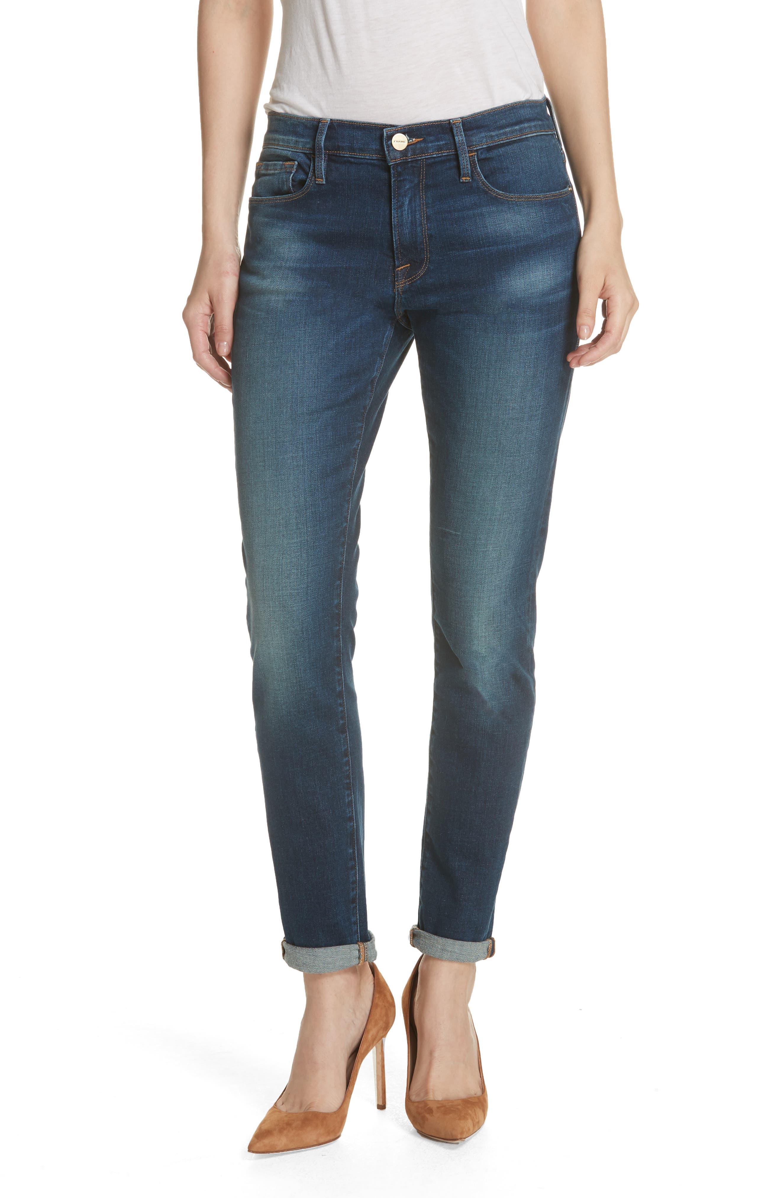 Le Garcon Slim Boyfriend Jeans,                             Main thumbnail 1, color,                             WESTFIELD