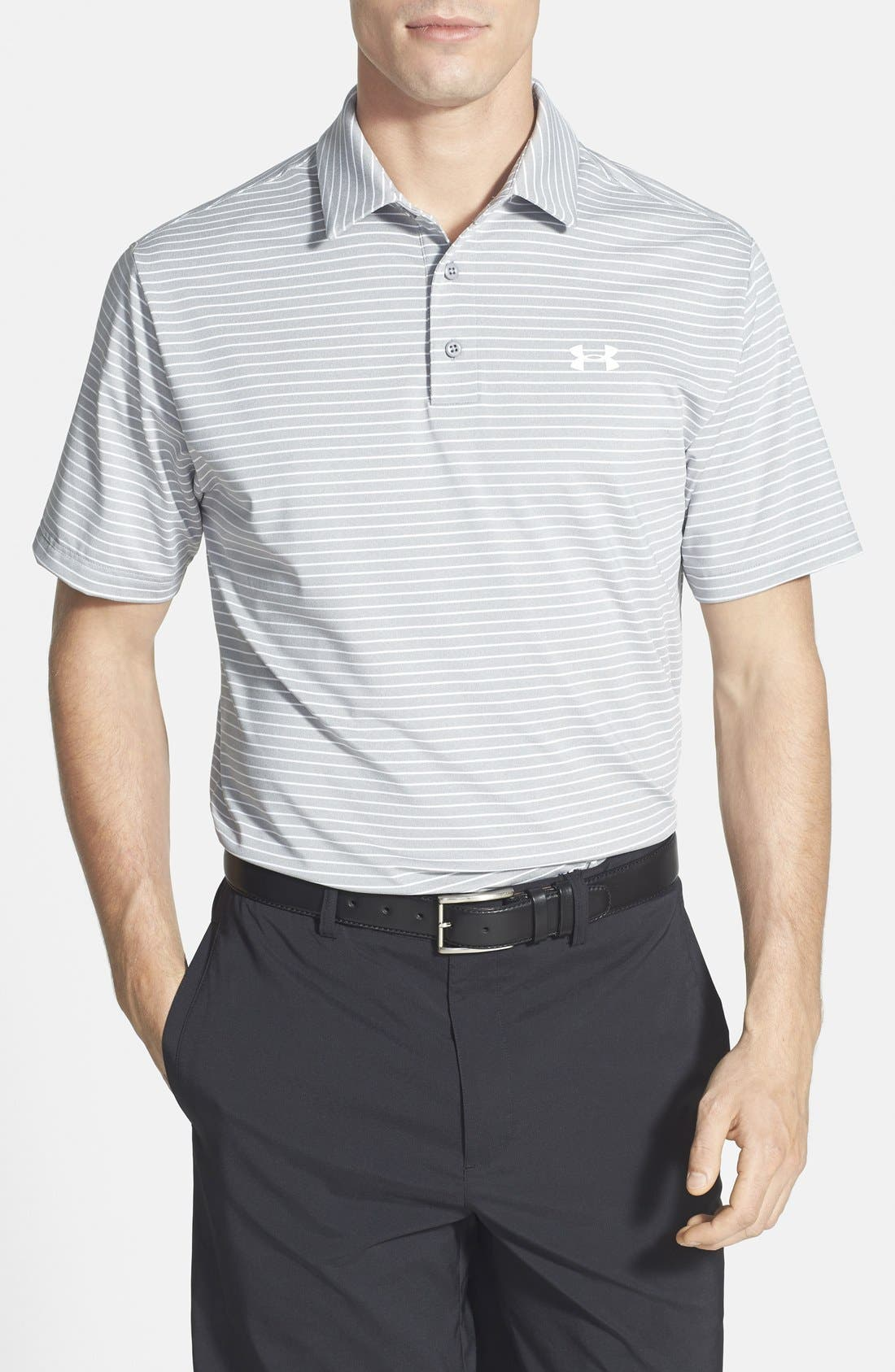 'Playoff' Loose Fit Short Sleeve Polo,                             Main thumbnail 2, color,