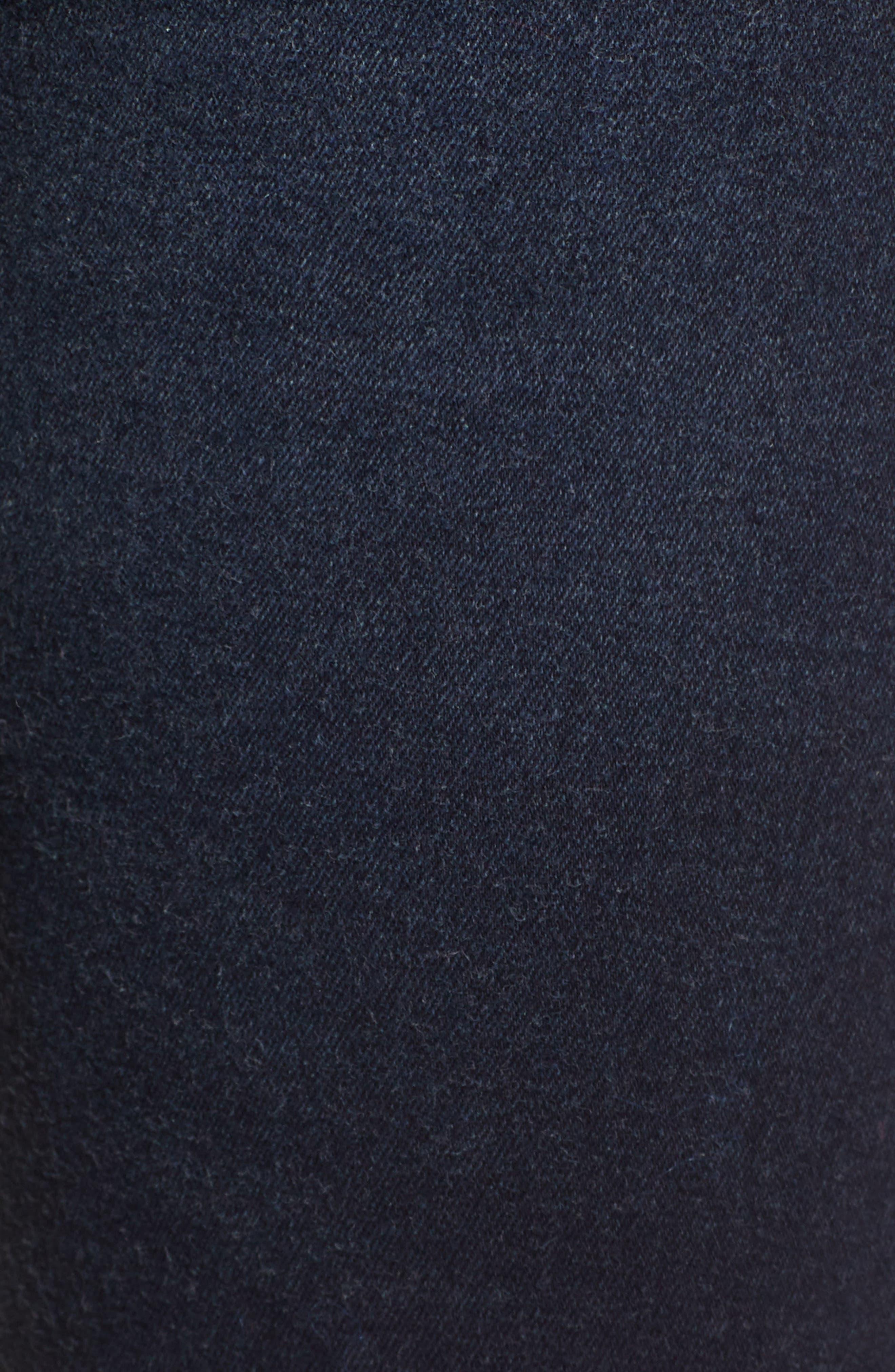 Moxy Skinny Jeans,                             Alternate thumbnail 6, color,                             PITCH DARK BLUE