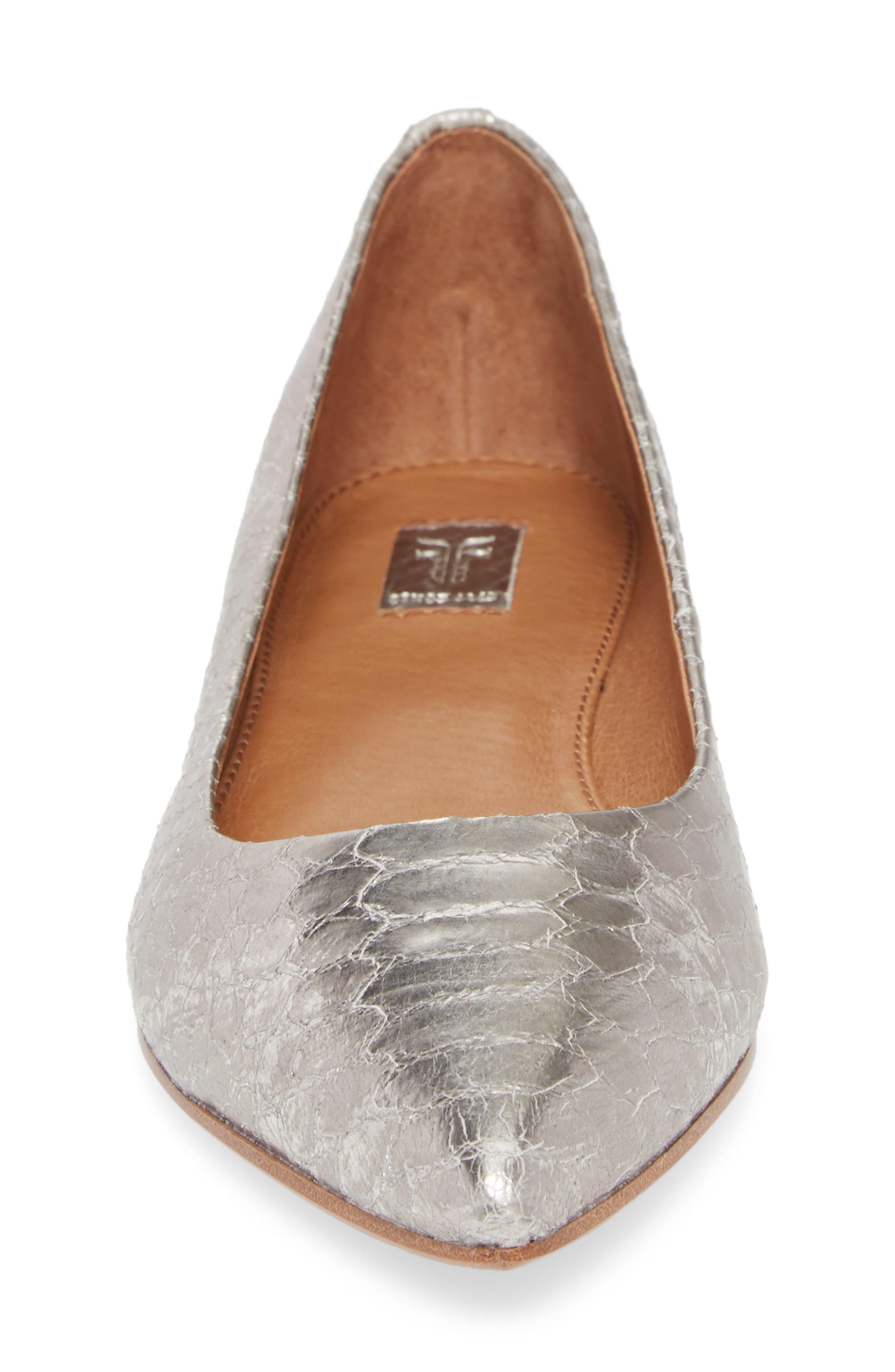 Sienna Pointy Toe Ballet Flat,                             Alternate thumbnail 10, color,