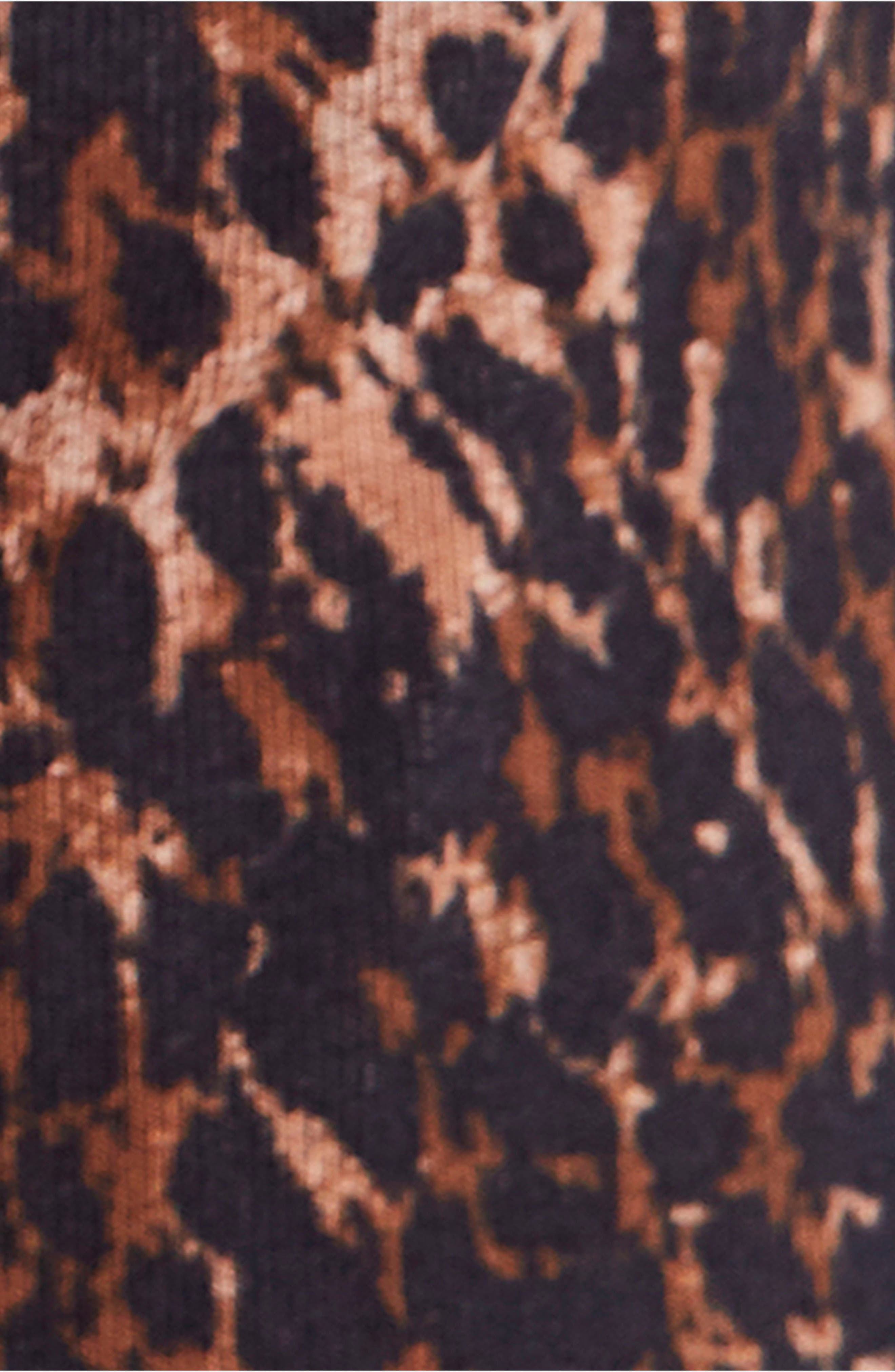 Wild Thing Leopard Print Top,                             Alternate thumbnail 5, color,                             214