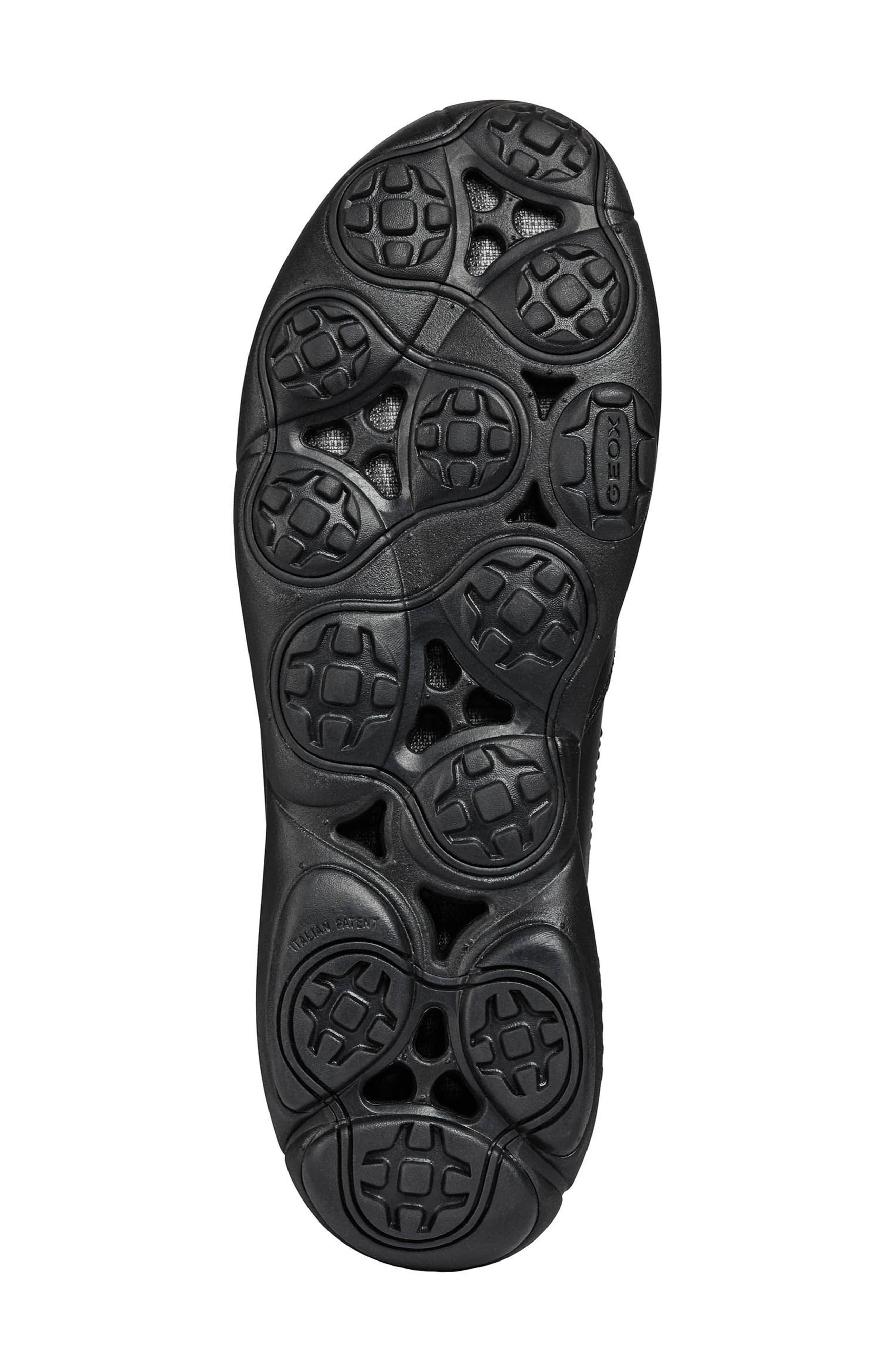Nebula Mid Chelsea Sneaker,                             Alternate thumbnail 6, color,                             BLACK LEATHER
