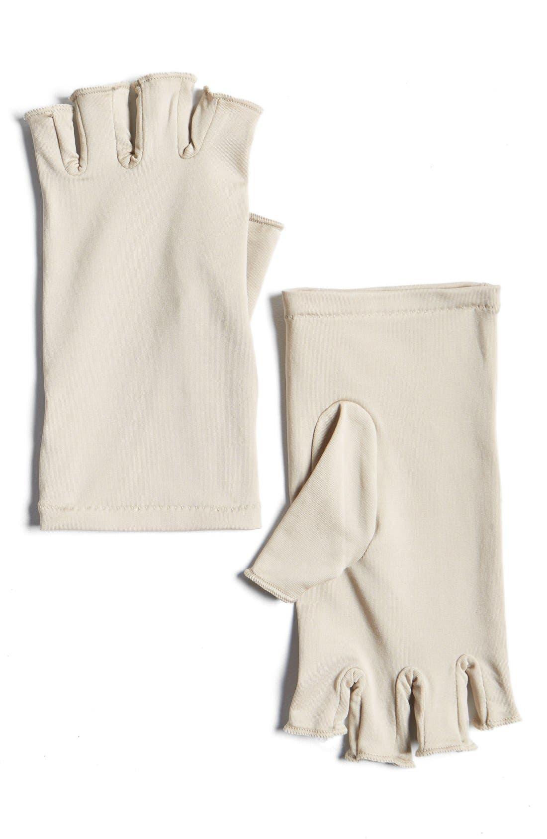 Skin Rejuvenating Gloves,                             Main thumbnail 1, color,                             000