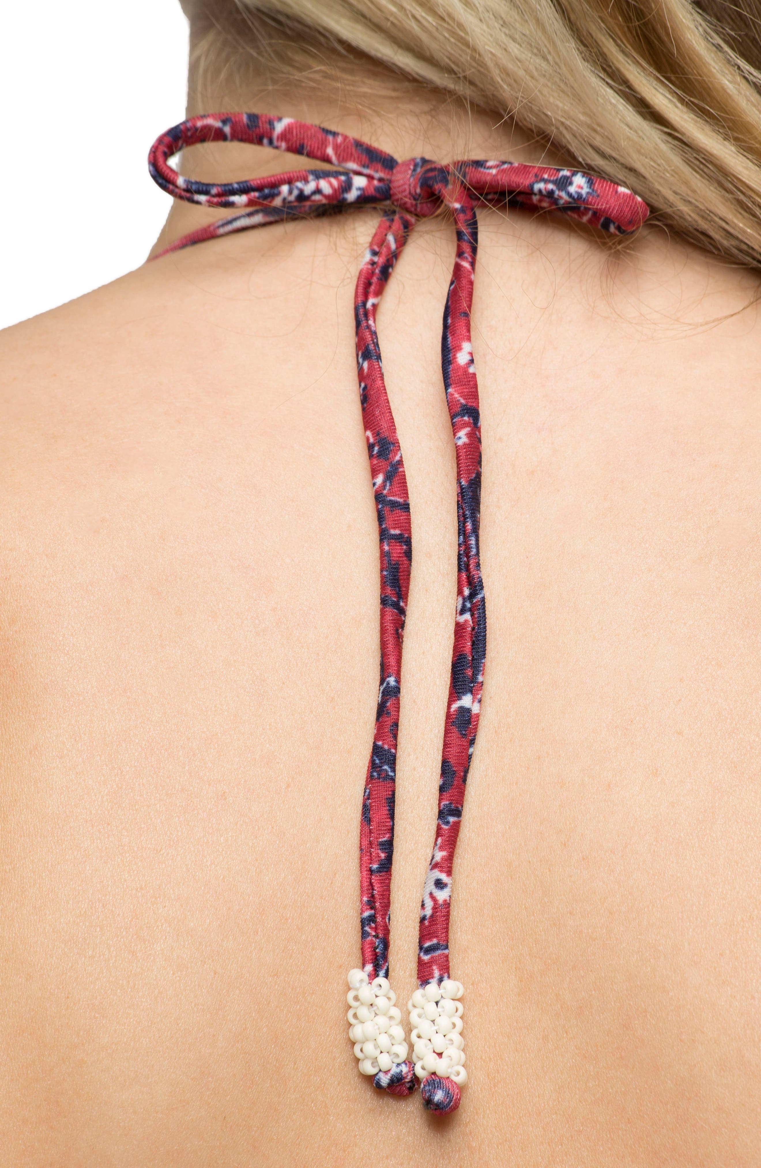 Lily Triangle Bikini Top,                             Alternate thumbnail 4, color,                             643