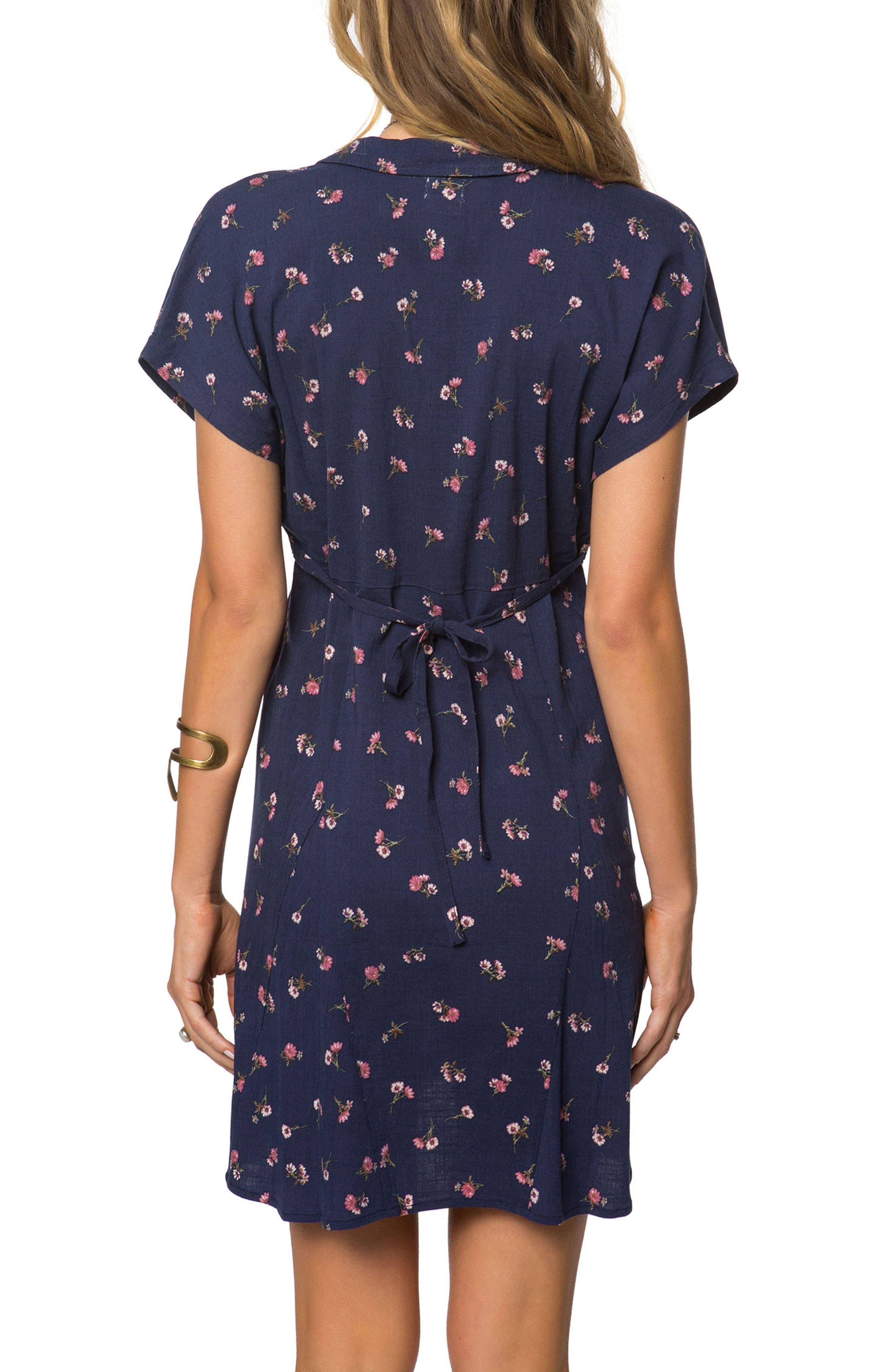 O'Neil Kiki Floral Dress,                             Alternate thumbnail 2, color,                             400