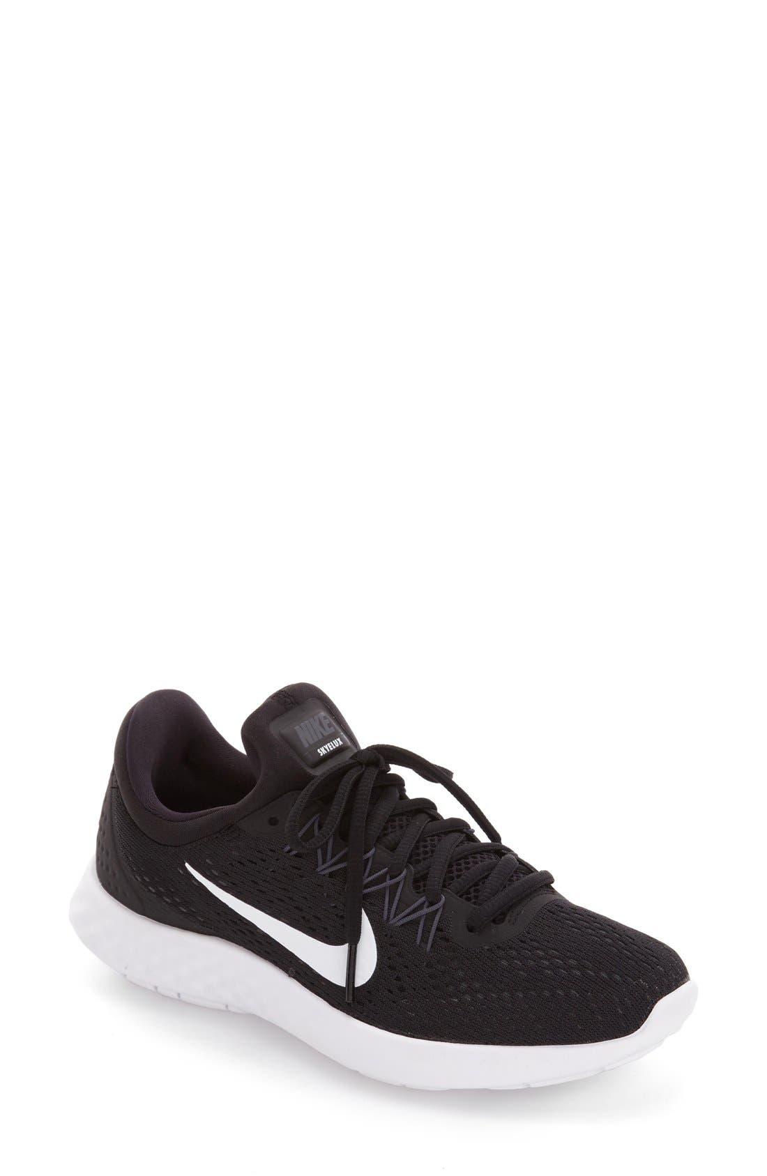 Lunar Skyelux Running Shoe, Main, color, 001