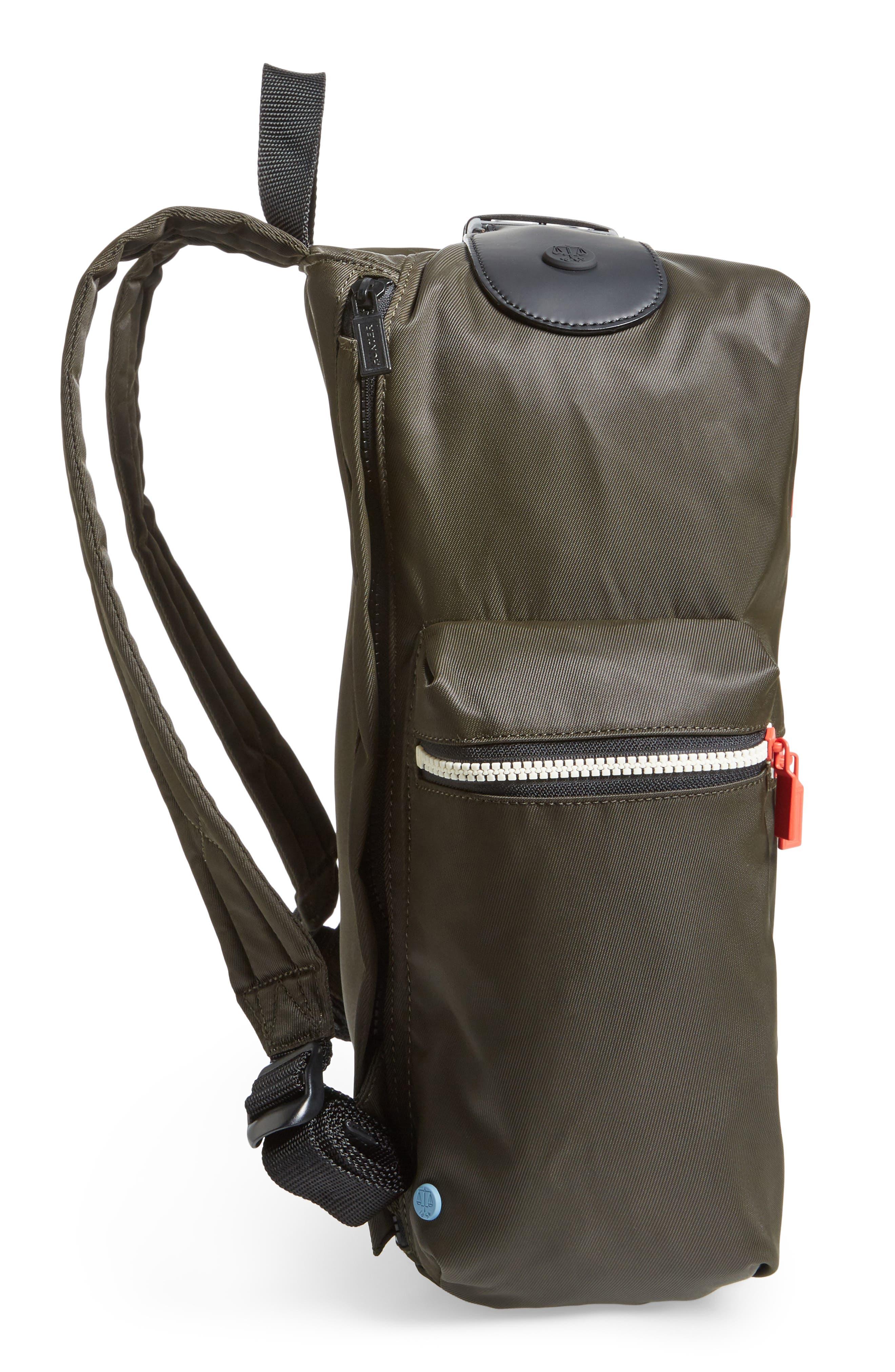 Original Top Clip Nylon Backpack,                             Alternate thumbnail 10, color,