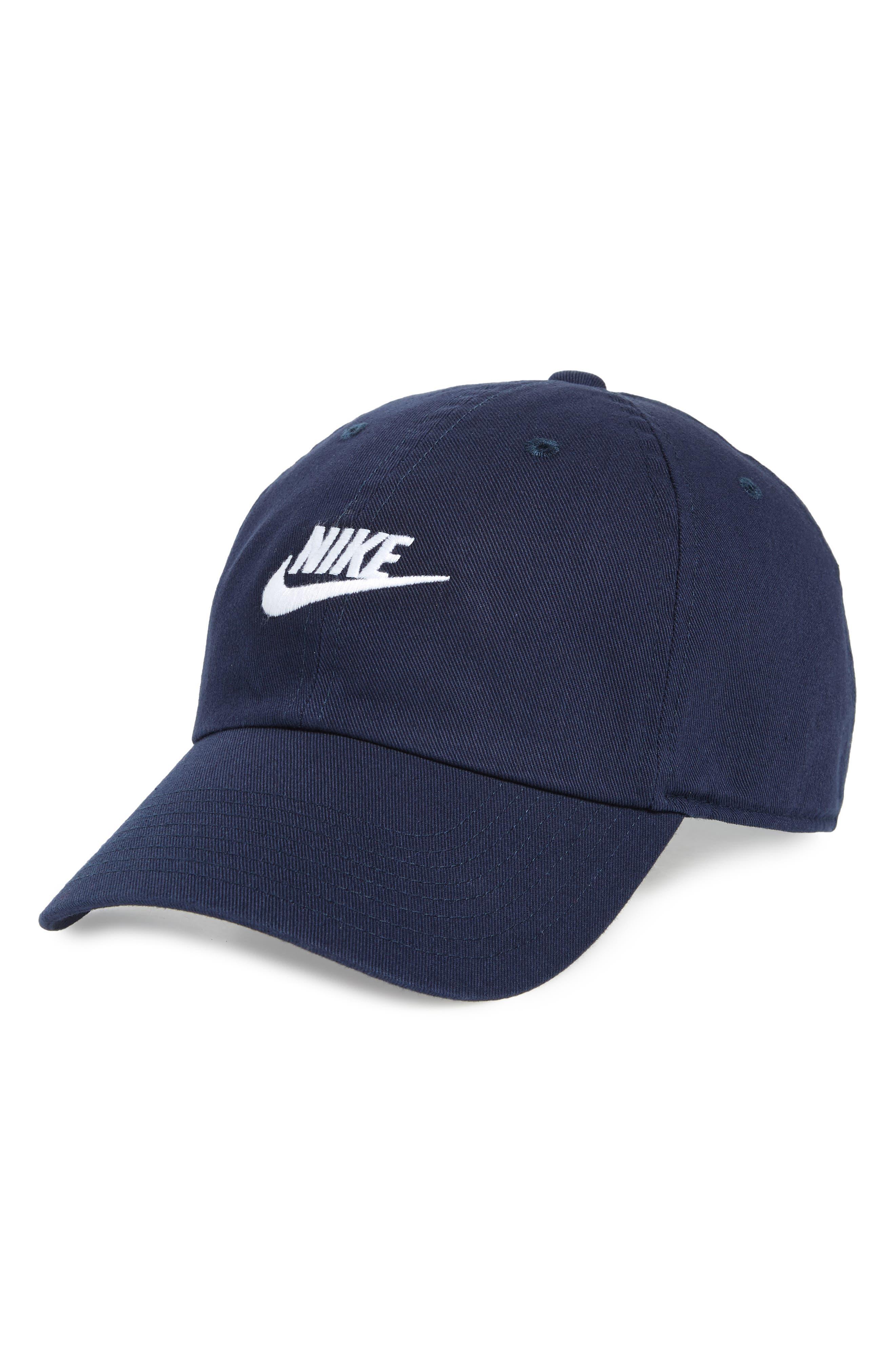Futura Washed Cap, Main, color, OBSIDIAN
