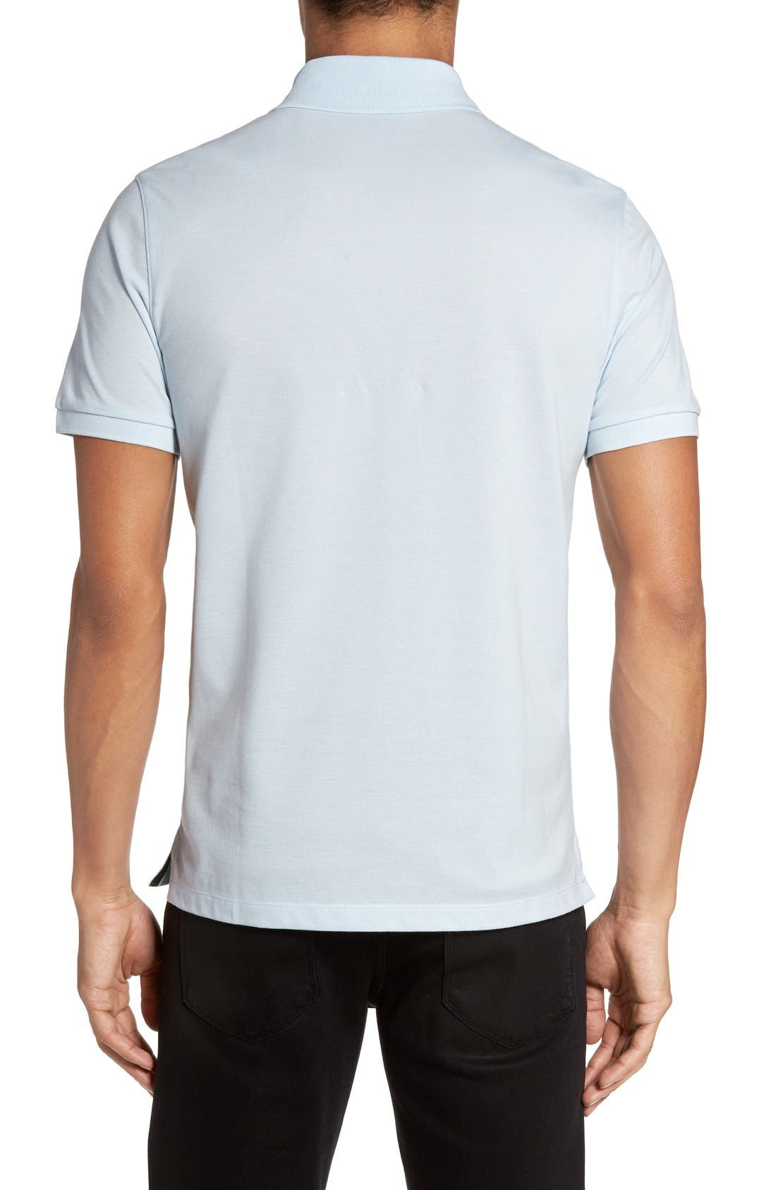 'Pallas' Regular Fit Logo Embroidered Polo Shirt,                             Alternate thumbnail 89, color,