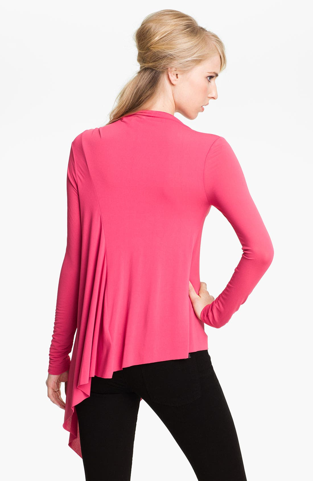 'Bailey' Crepe Jersey Top,                             Alternate thumbnail 2, color,                             600