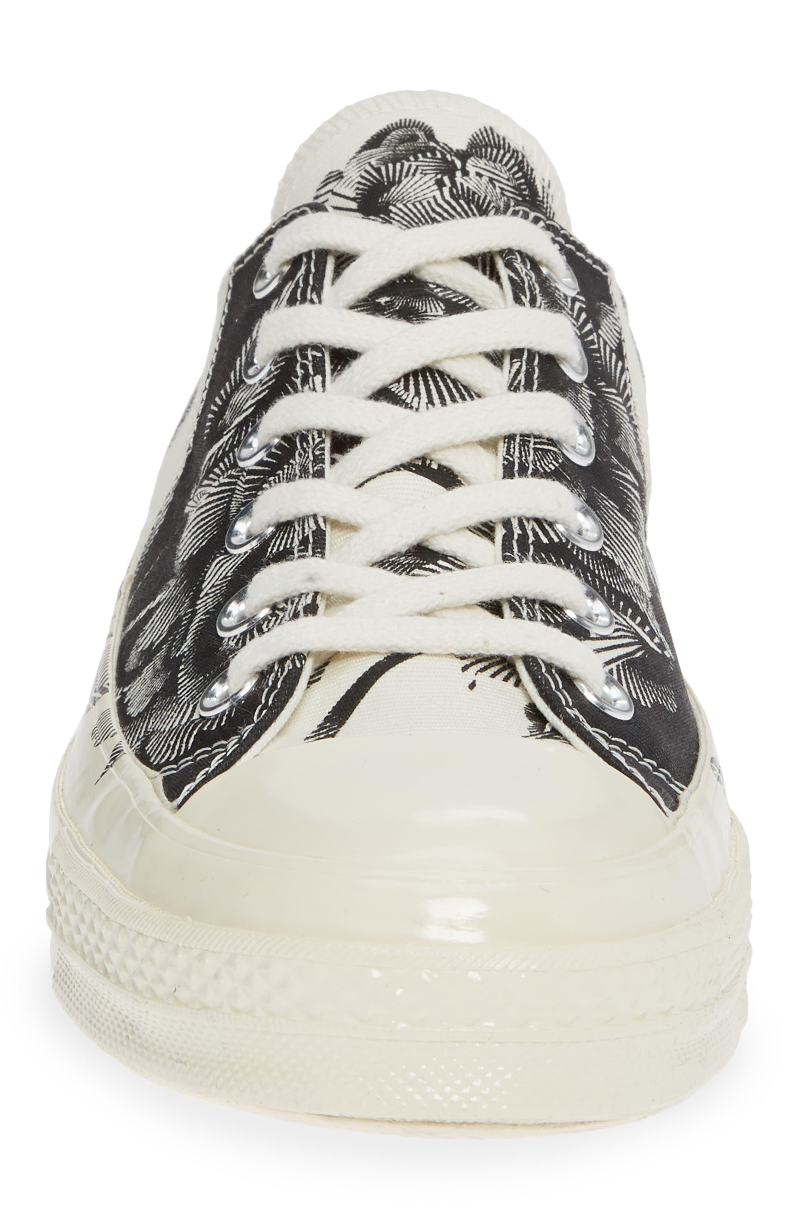 CT 70 Peony Low Top Sneaker,                             Alternate thumbnail 4, color,                             001