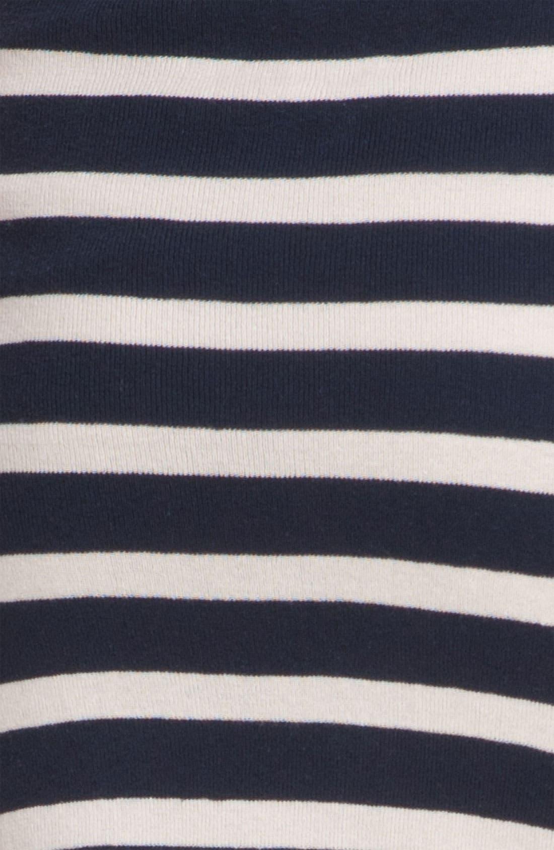 'Skipper' Stripe Pencil Skirt,                             Alternate thumbnail 2, color,                             400