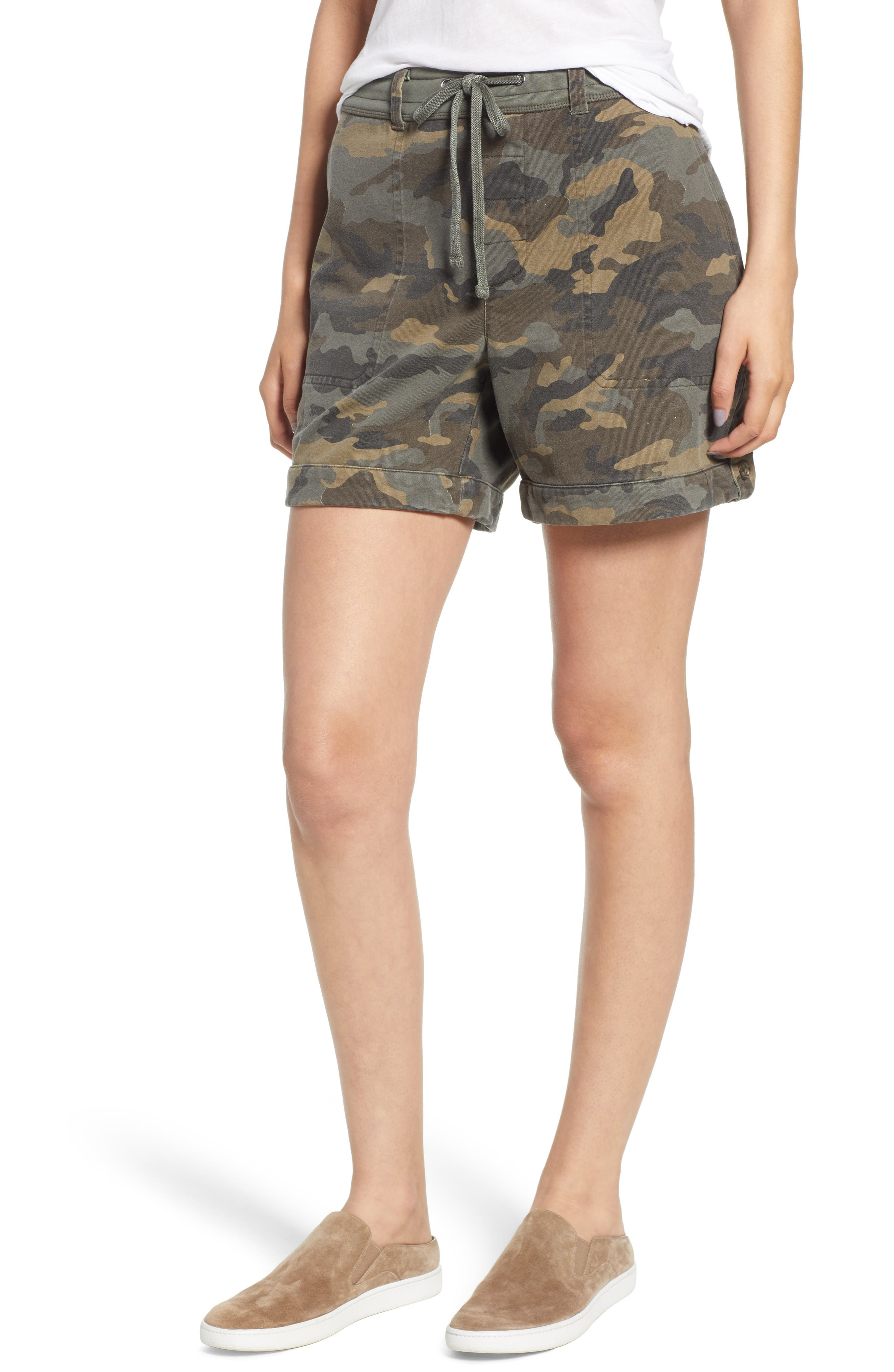 JAMES PERSE Camo Shorts, Main, color, 005