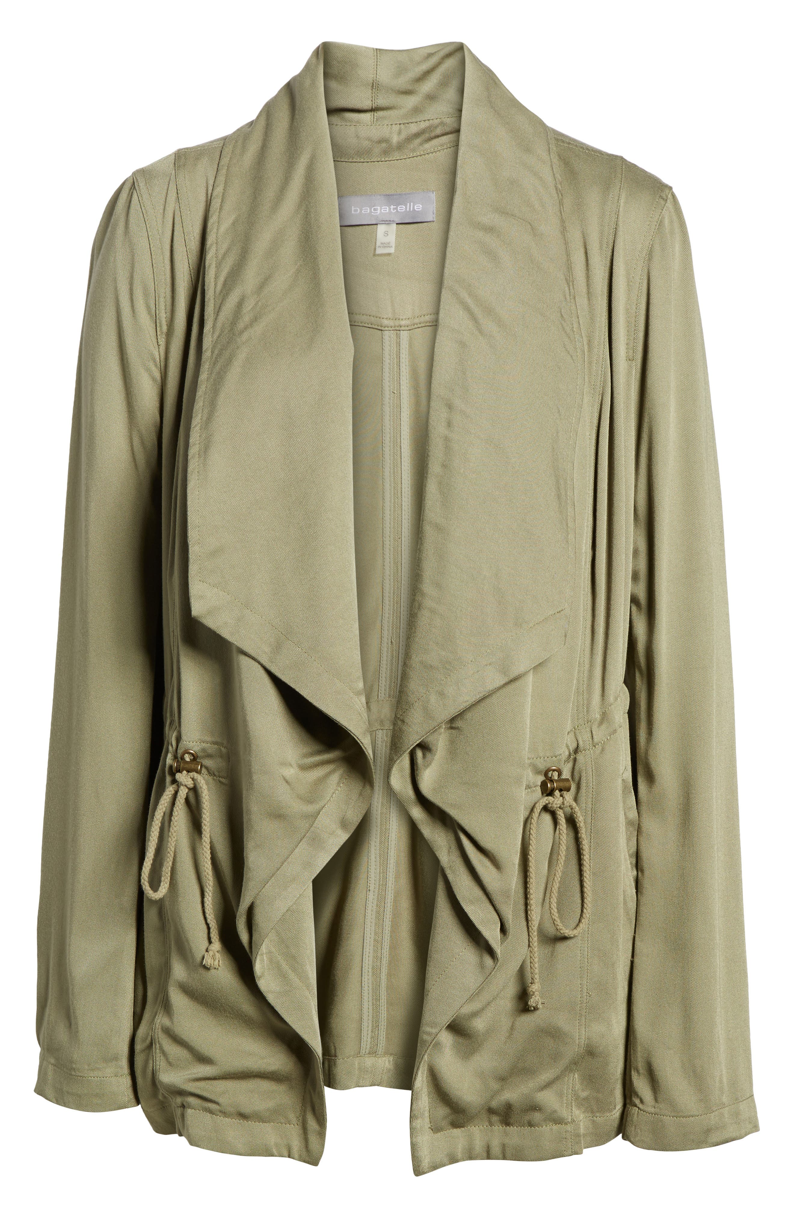 Drape Jacket,                             Alternate thumbnail 6, color,