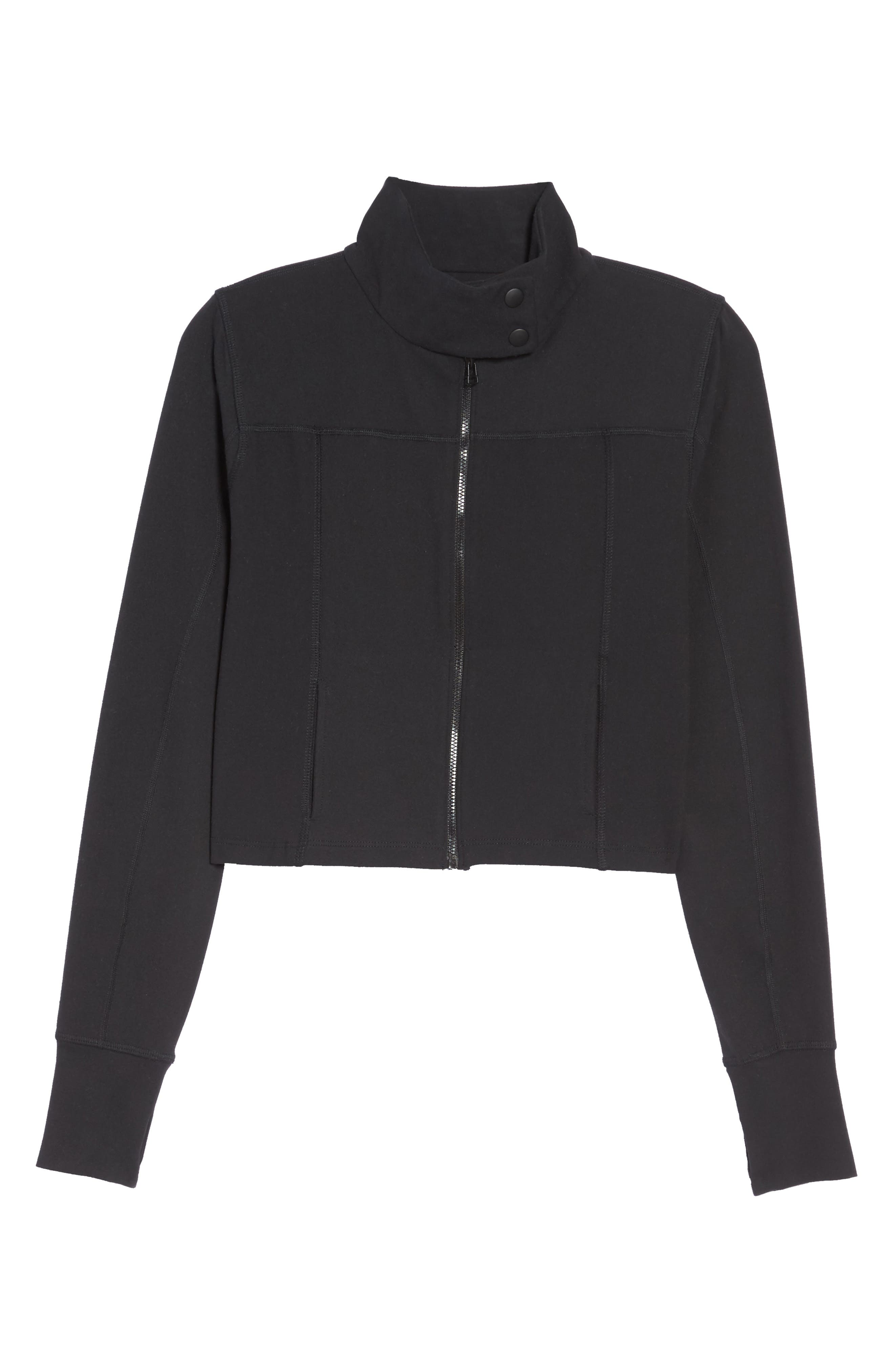 Boxed In Crop Jacket,                             Alternate thumbnail 7, color,                             002