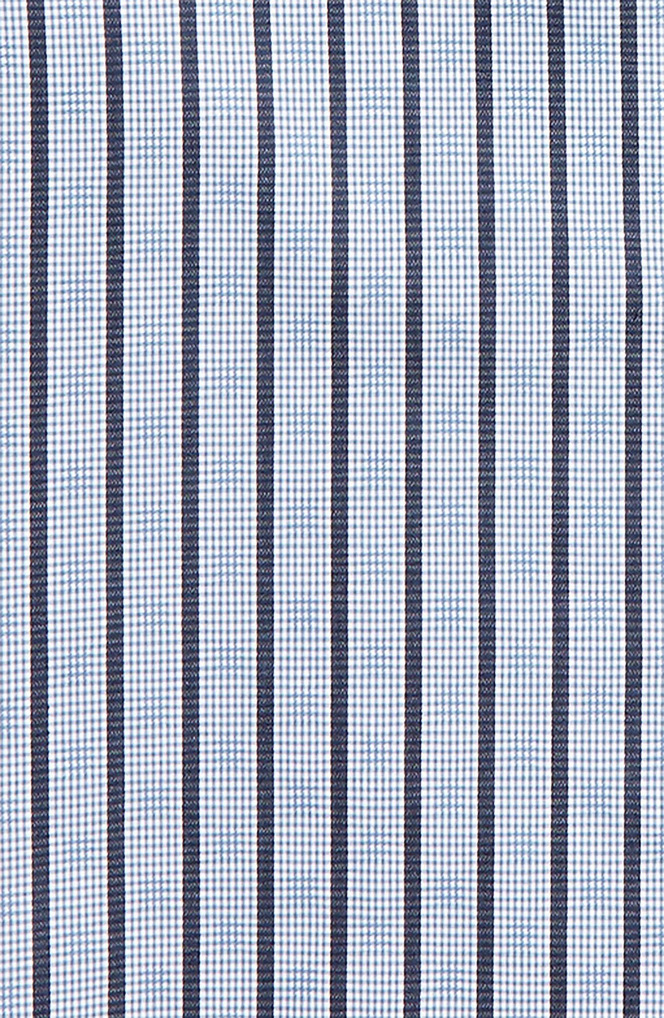 Stripe & Check Dress Shirt,                             Alternate thumbnail 2, color,                             400