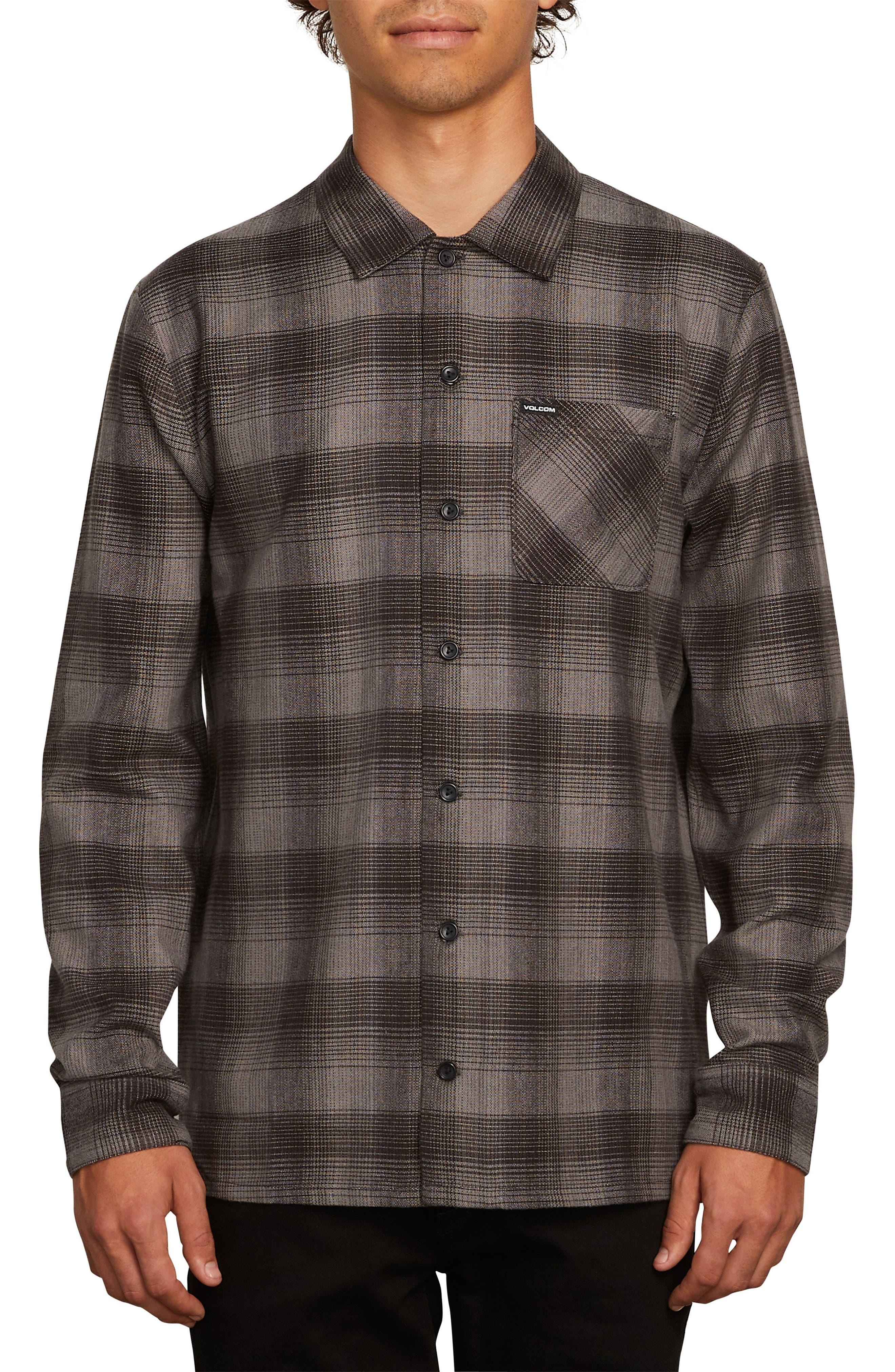 Volcom Flanders Long Sleeve Flannel Shirt