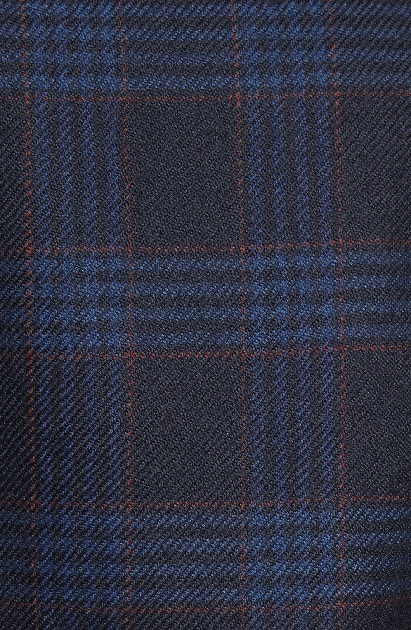 Rafferty Oversize Plaid Blazer,                             Alternate thumbnail 5, color,                             402