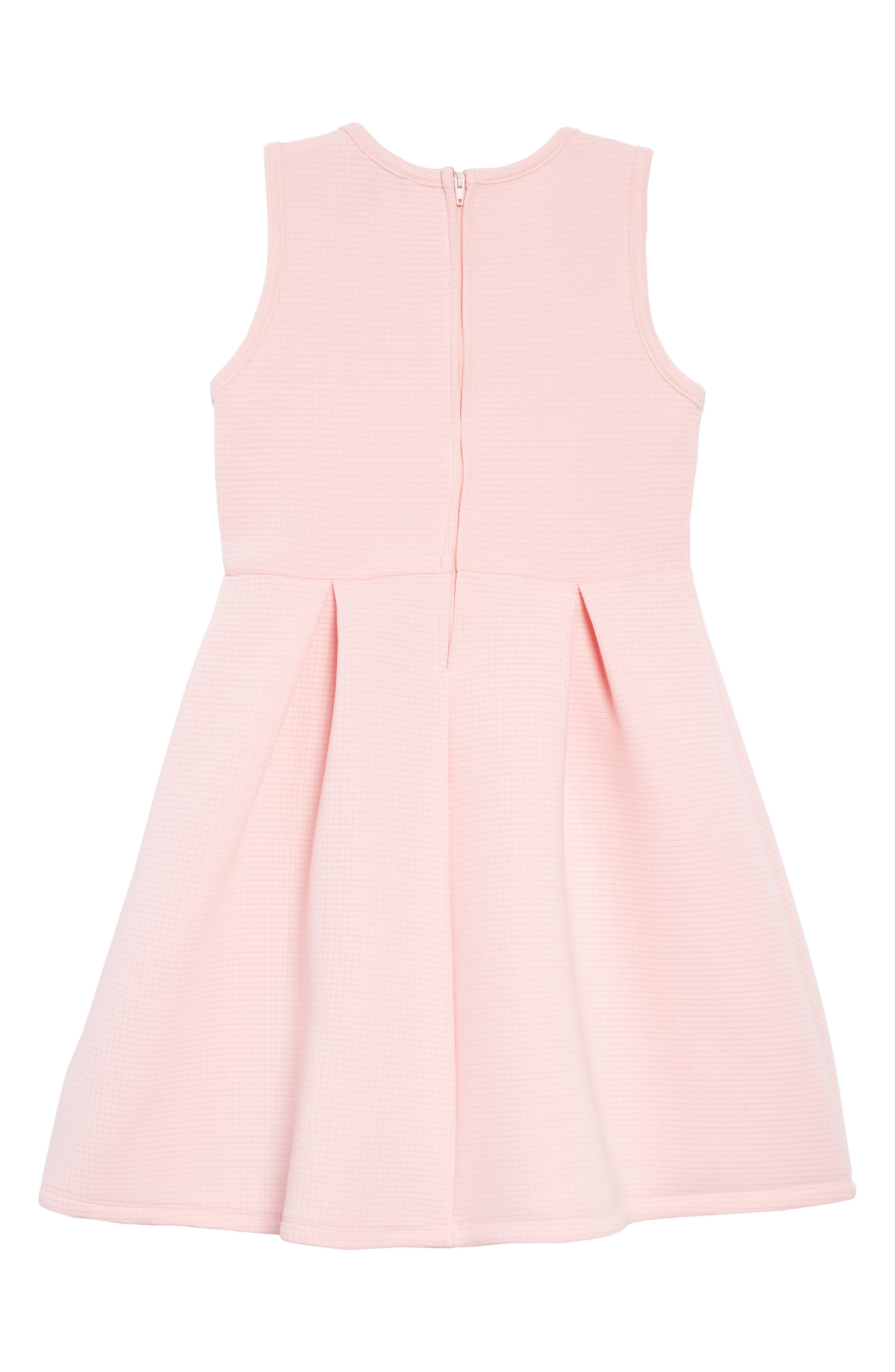 Pleated Fit & Flare Tank Dress,                             Alternate thumbnail 2, color,                             680