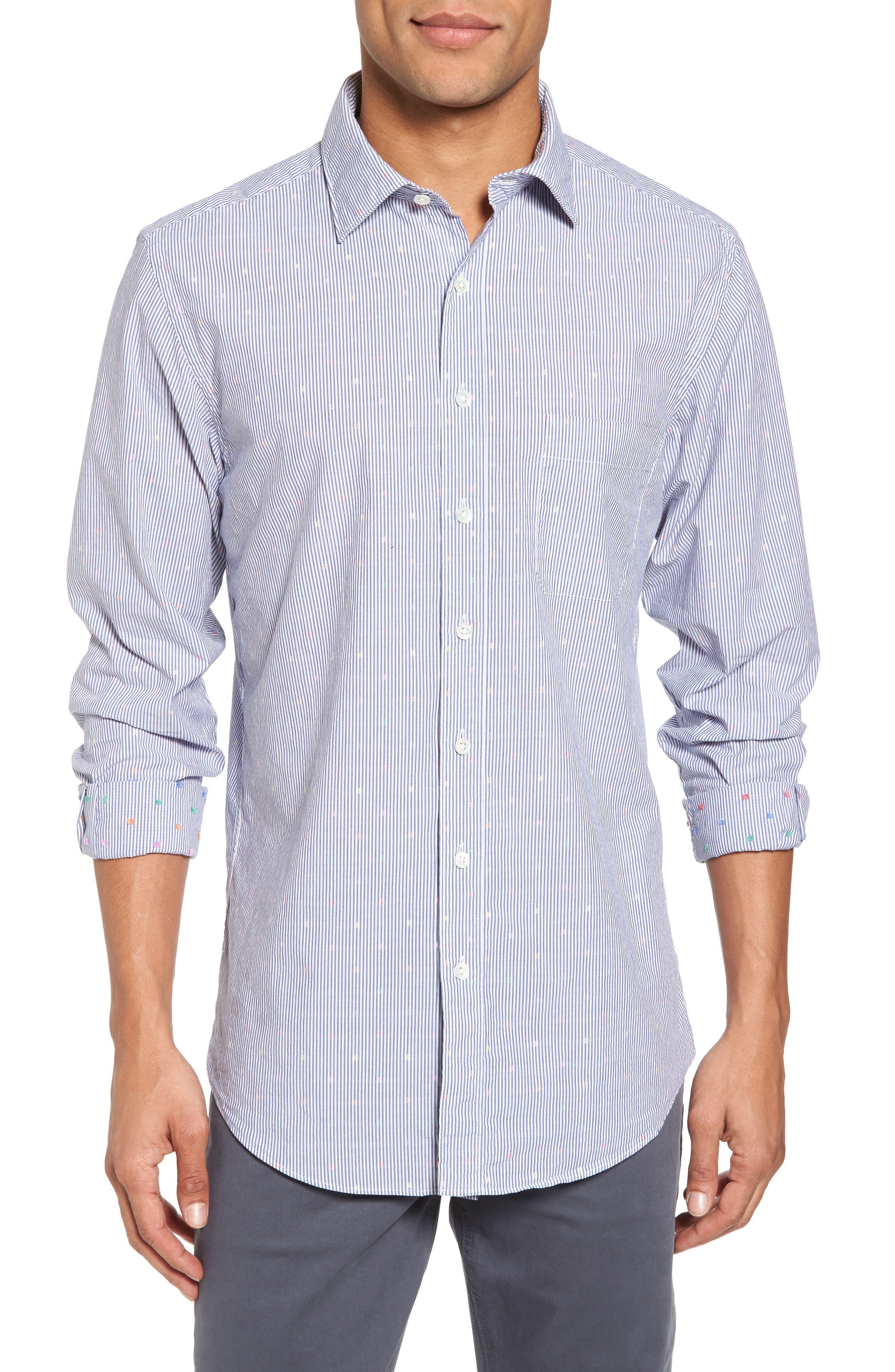 Tamaki River Woven Sport Shirt,                         Main,                         color, 423