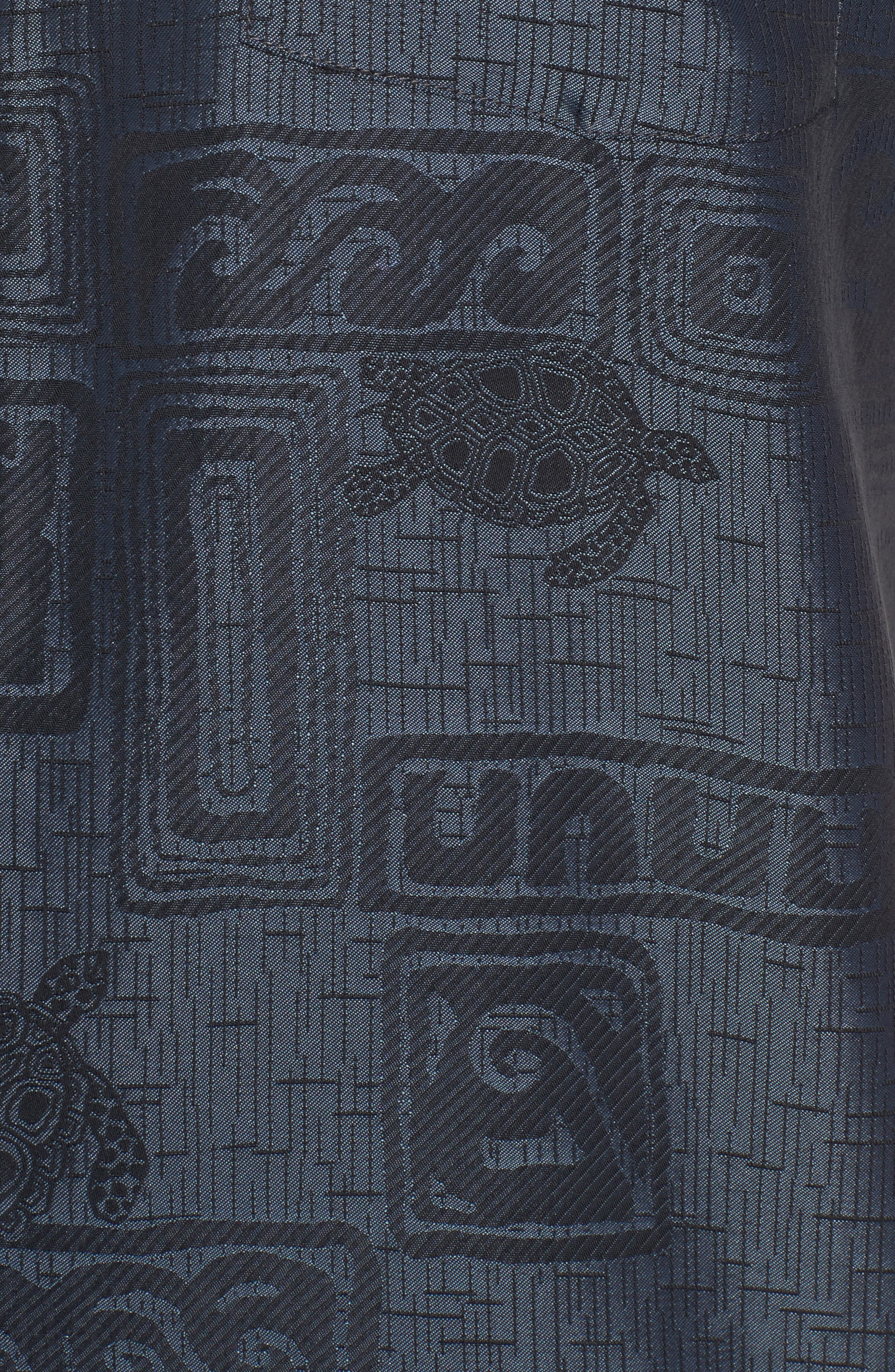 Sea Shells Classic Fit Sport Shirt,                             Alternate thumbnail 5, color,                             060