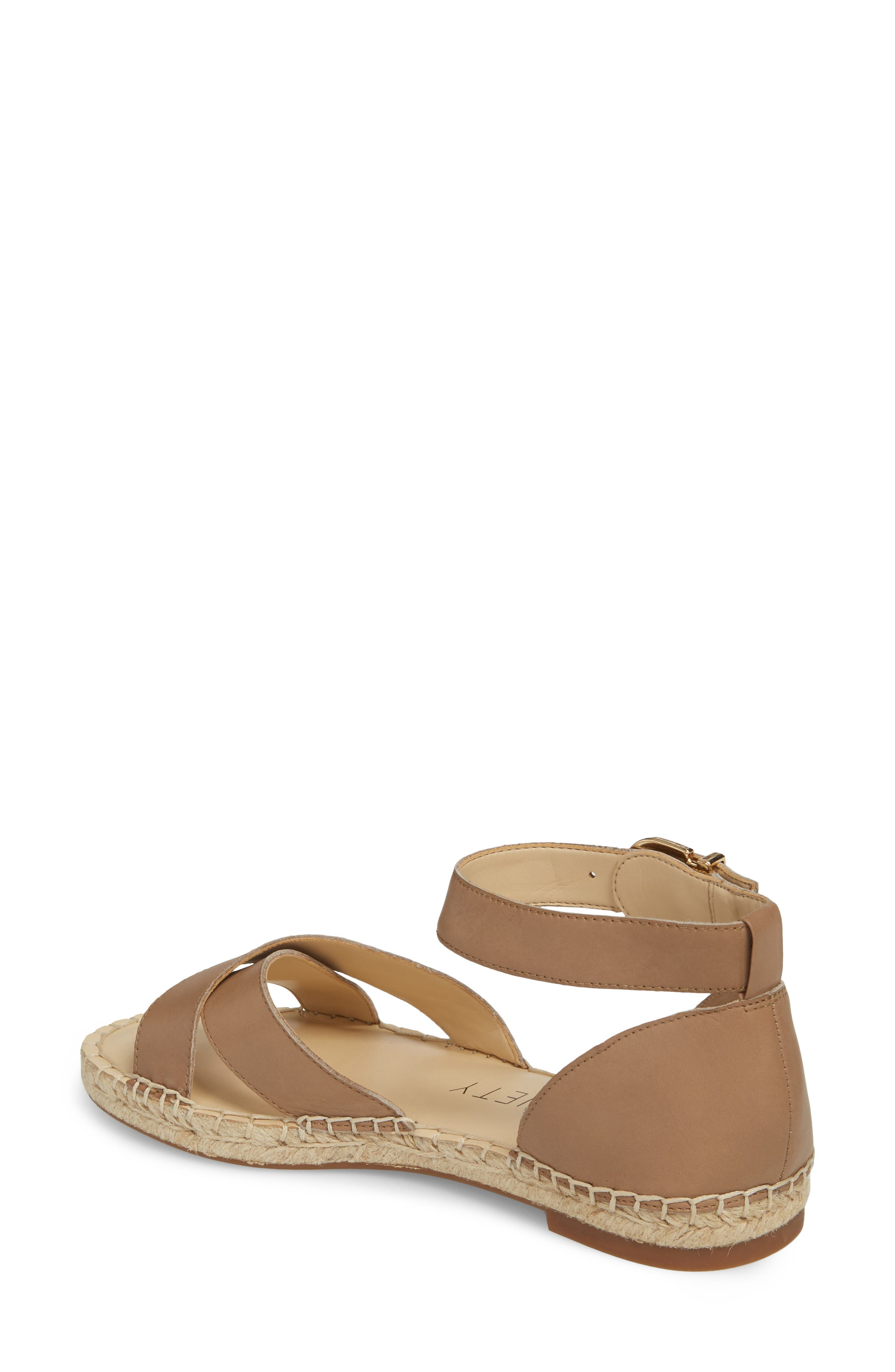 Saundra Espadrille Sandal,                             Alternate thumbnail 6, color,
