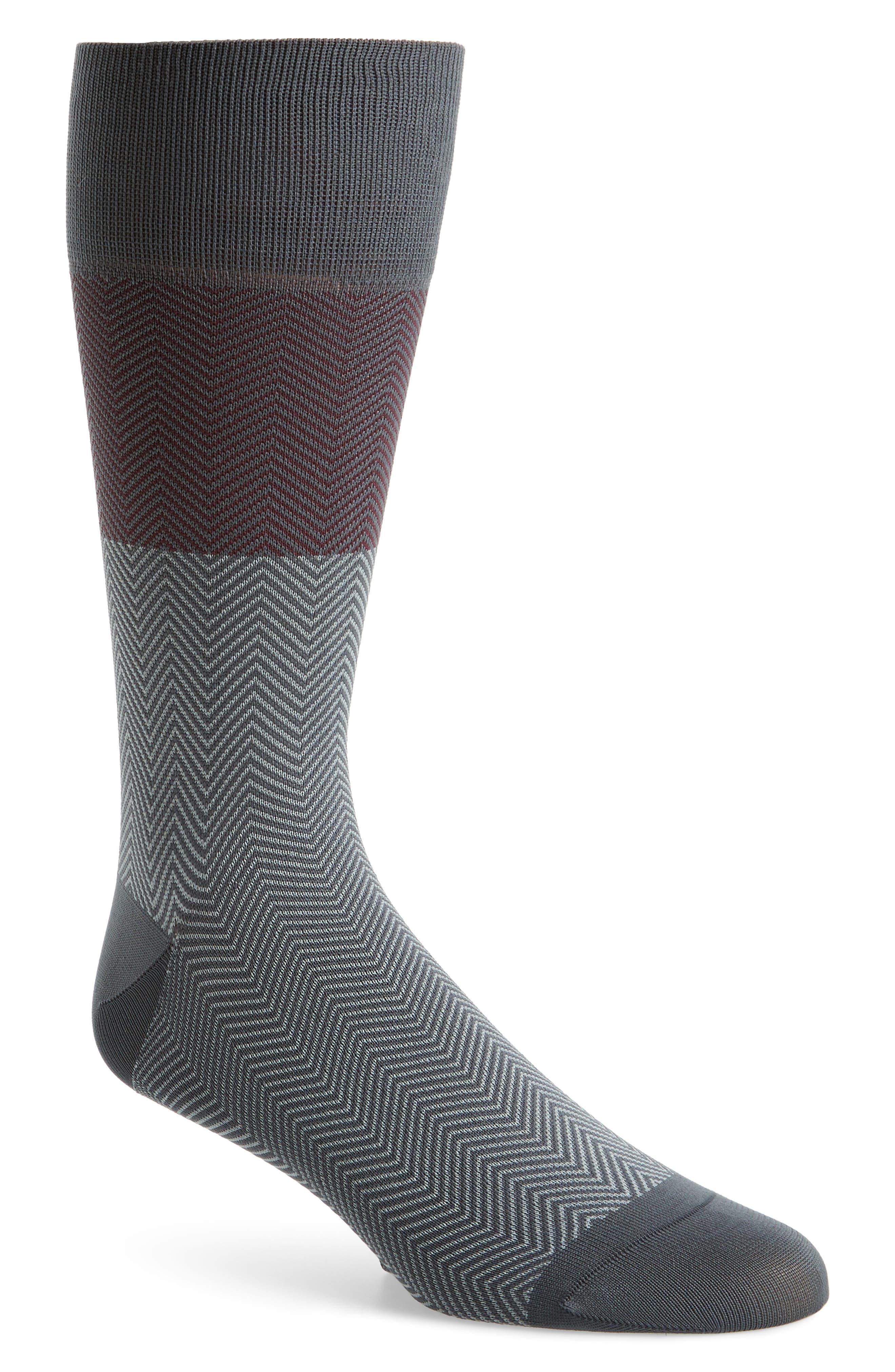 Herringbone Socks,                             Main thumbnail 2, color,