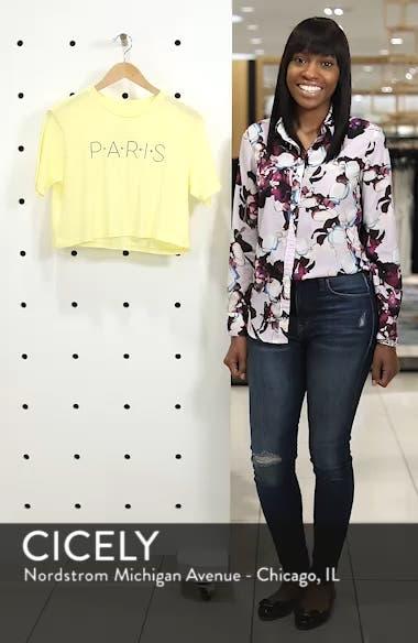 Paris Crop Tee, sales video thumbnail