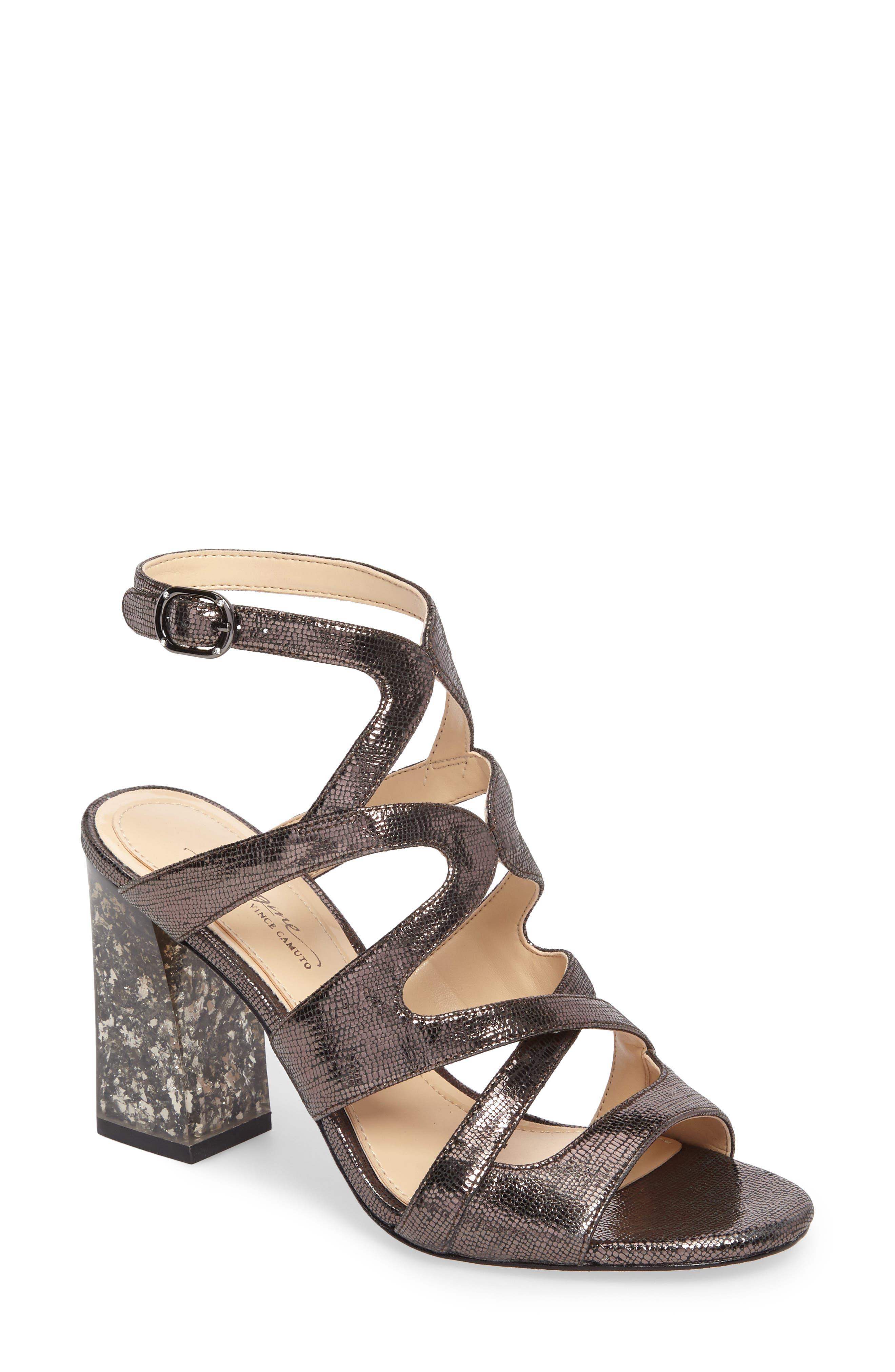 Imagine Vince Camuto Zahira Statement Heel Sandal,                         Main,                         color,