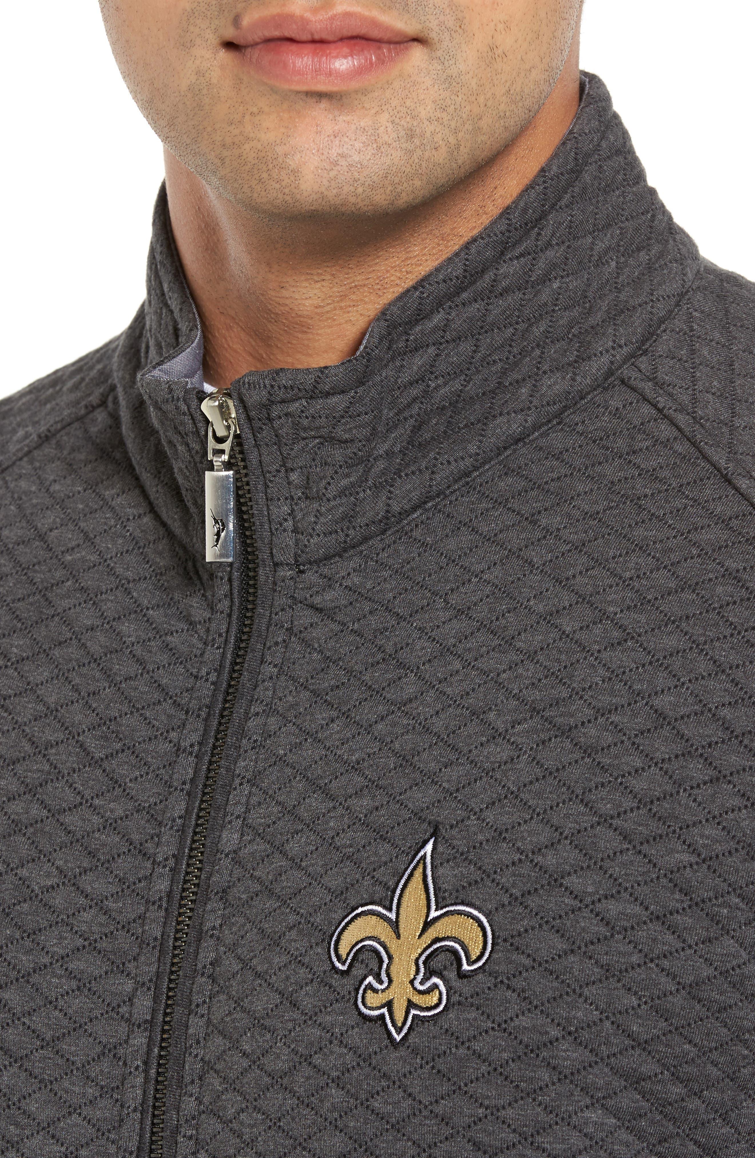 NFL Quiltessential Full Zip Sweatshirt,                             Alternate thumbnail 119, color,