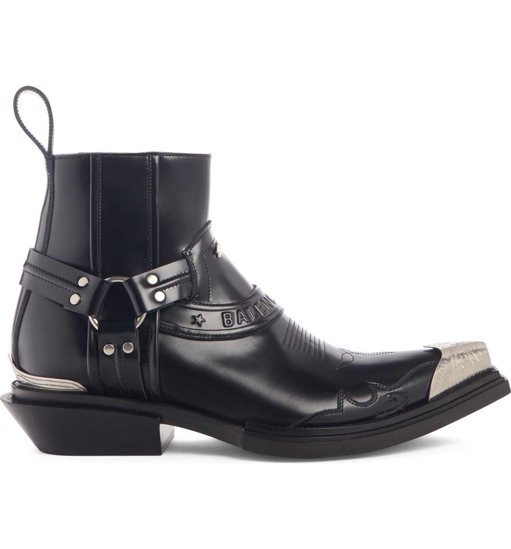 9924a608384e Balenciaga Santiago Harness Boot (Men)