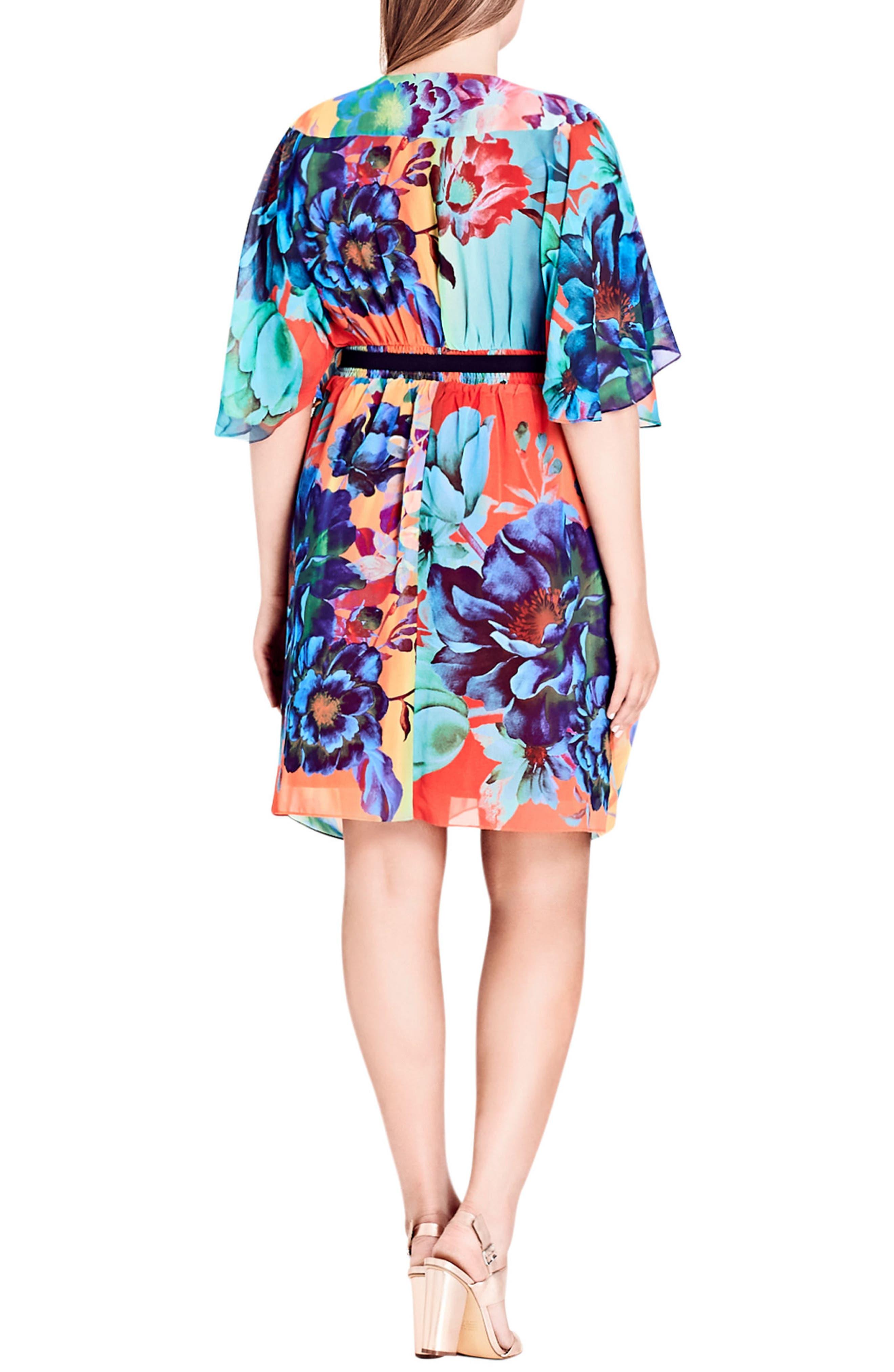 Summer Wrap Dress,                             Alternate thumbnail 2, color,                             950