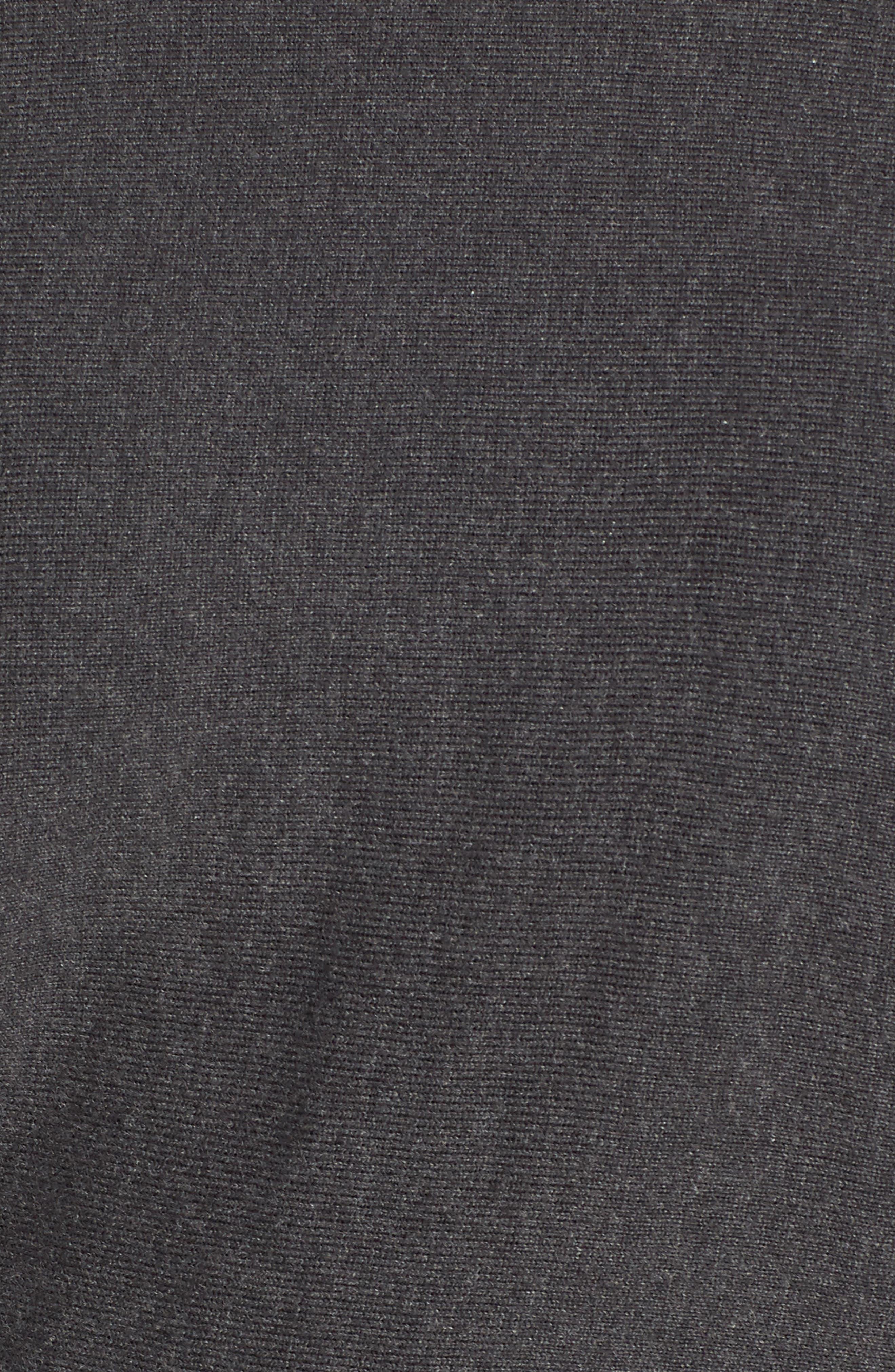 Cotton Blend Kimono Sweater,                             Alternate thumbnail 5, color,                             GREY DARK CHARCOAL HEATHER