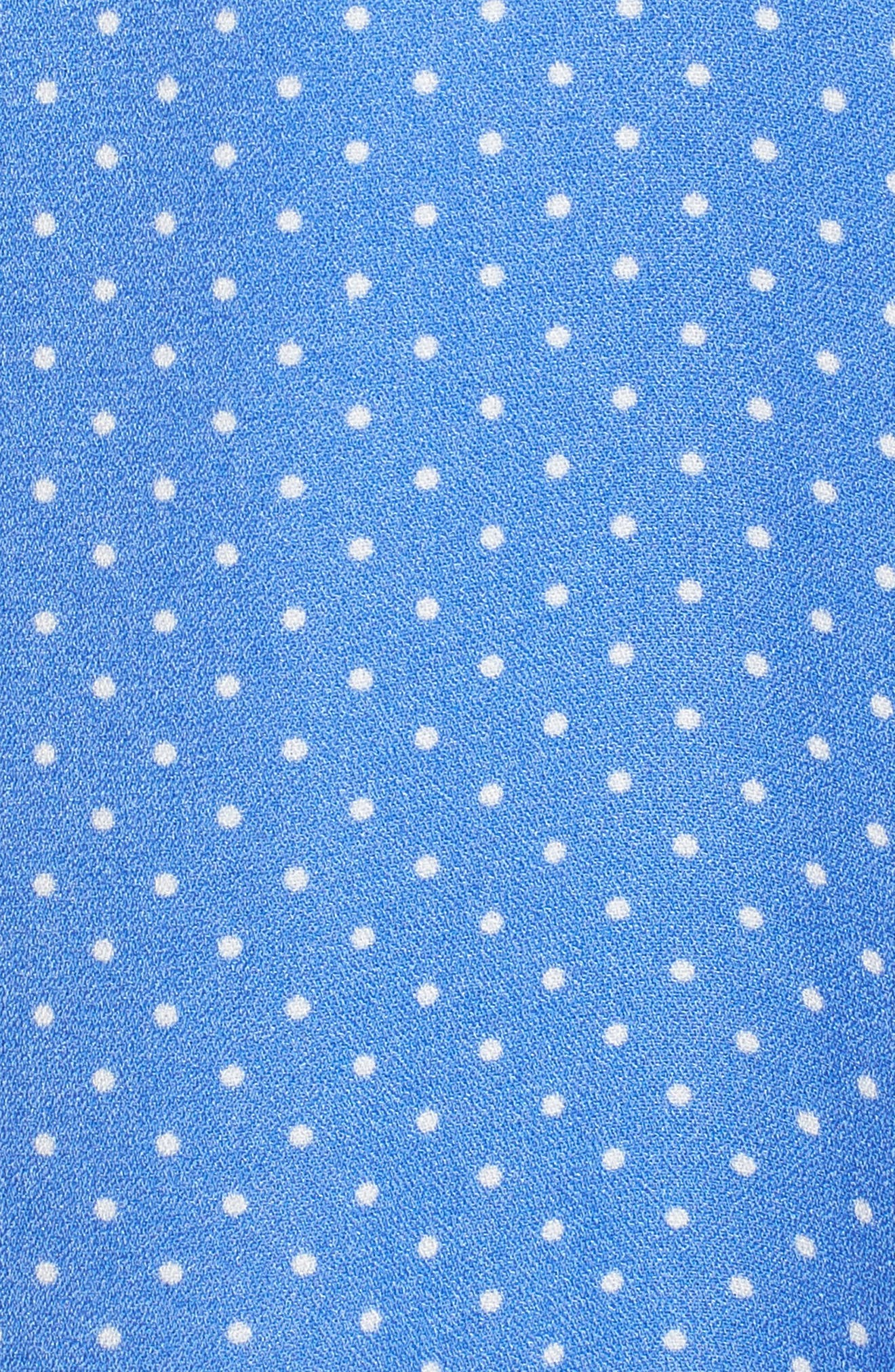 Vanessa Tie Front Minidress,                             Alternate thumbnail 6, color,