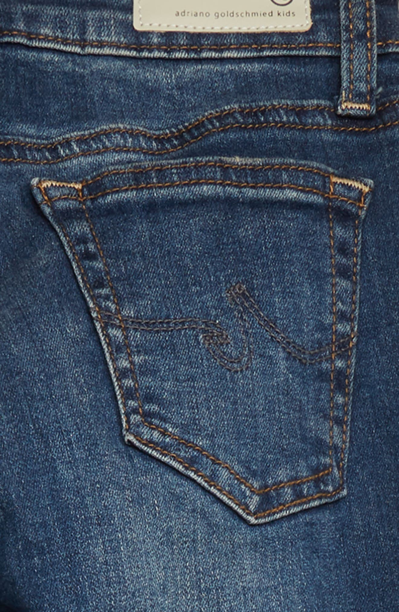 The Twiggy Super Skinny Jeans,                             Alternate thumbnail 3, color,                             7 YEAR BREAK
