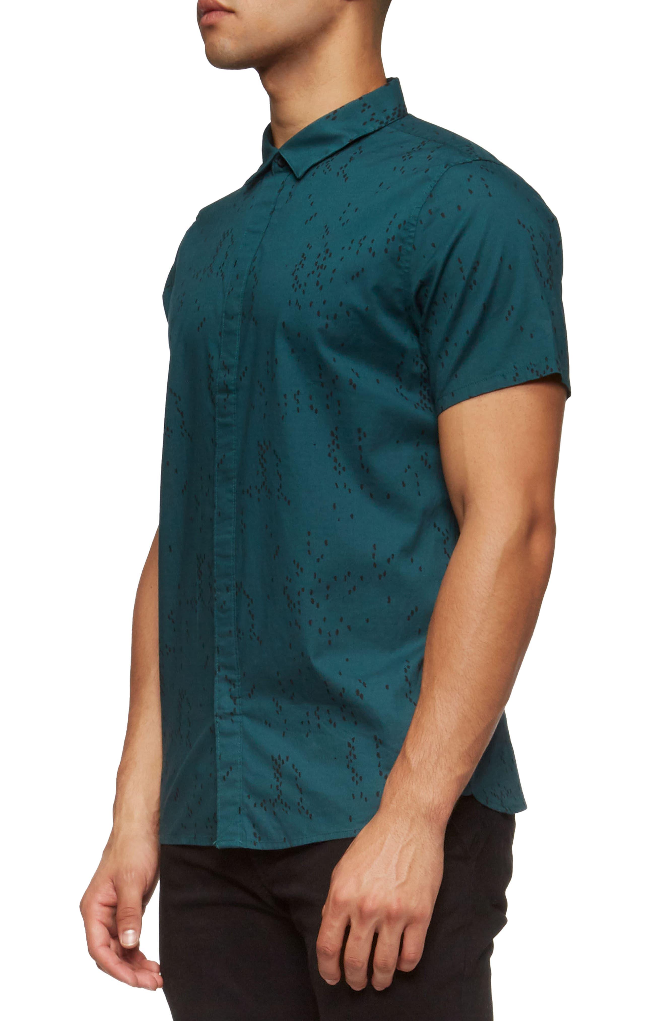 Bowery Short Sleeve Shirt,                             Alternate thumbnail 8, color,