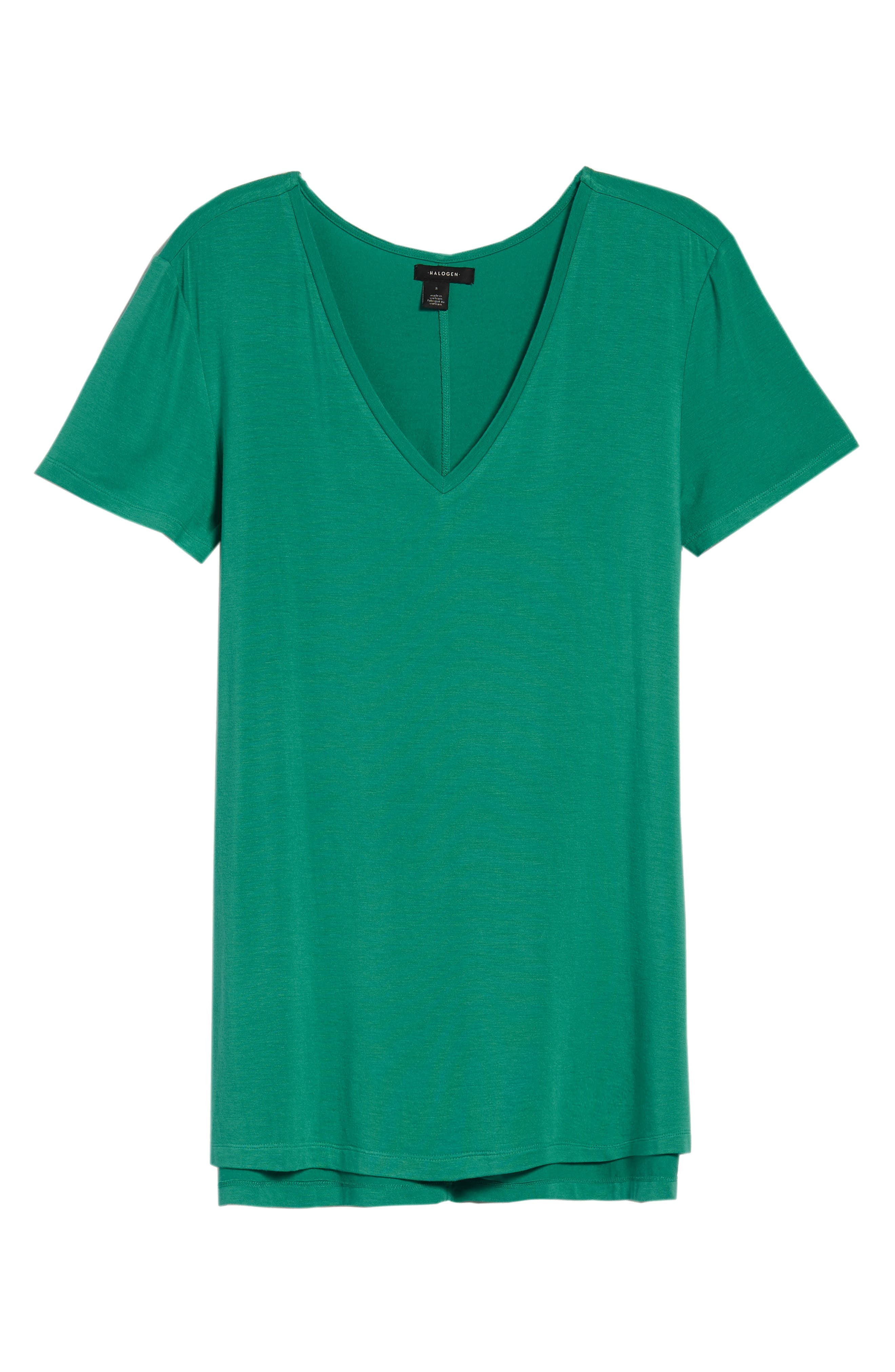V-Neck Tunic Tee,                             Alternate thumbnail 64, color,