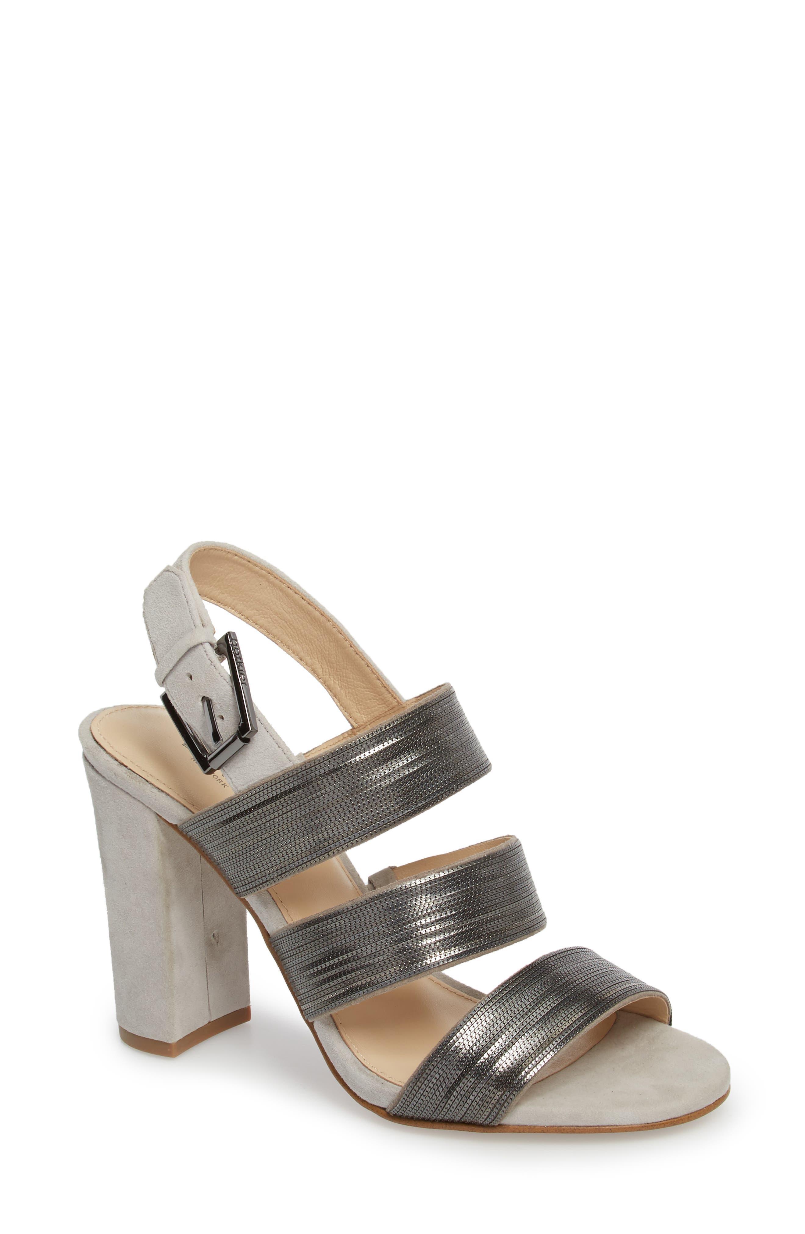 Genesa Chain Slingback Sandal,                             Main thumbnail 2, color,